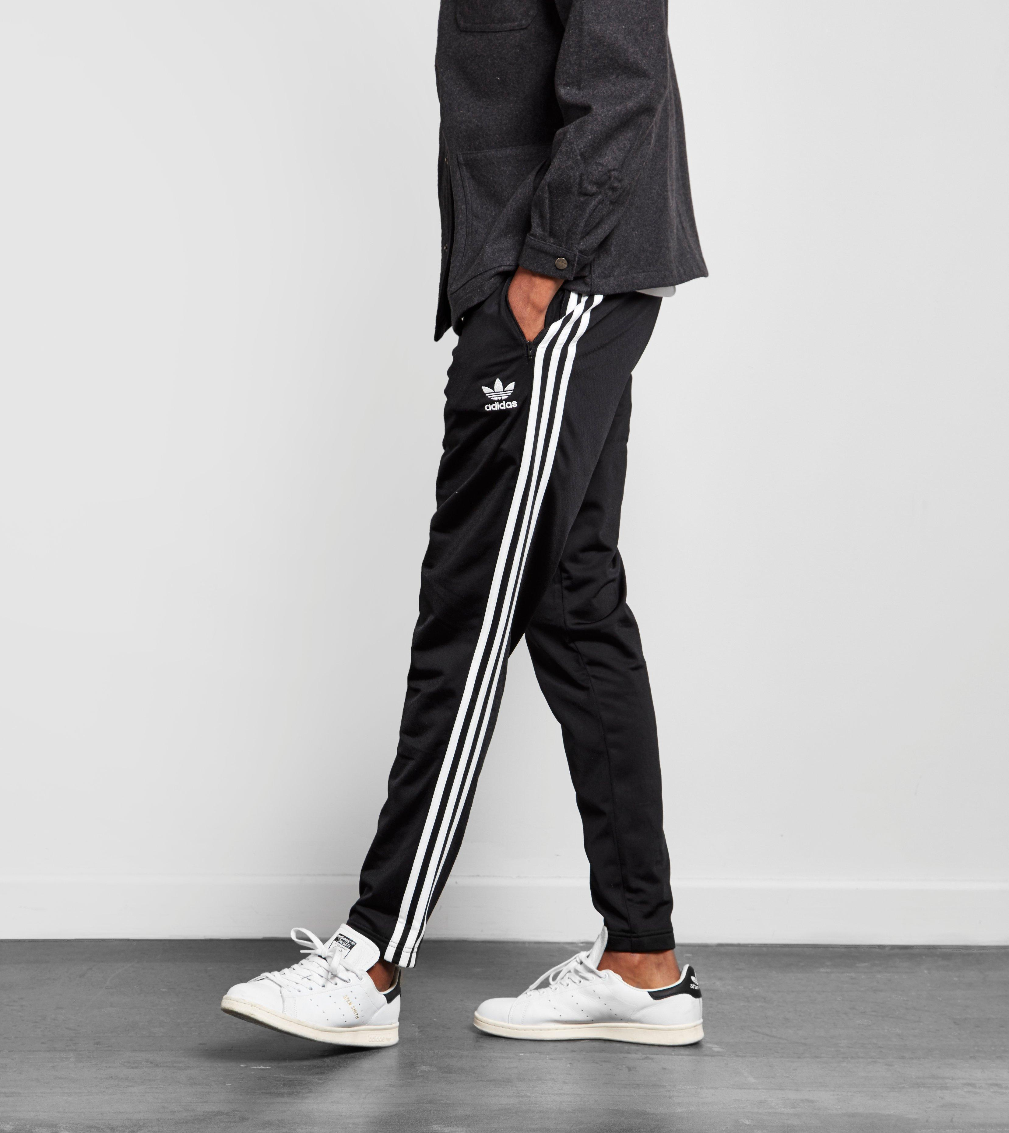 eacae297d Lyst - adidas Originals Superstar Taper Track Pants in Black for Men