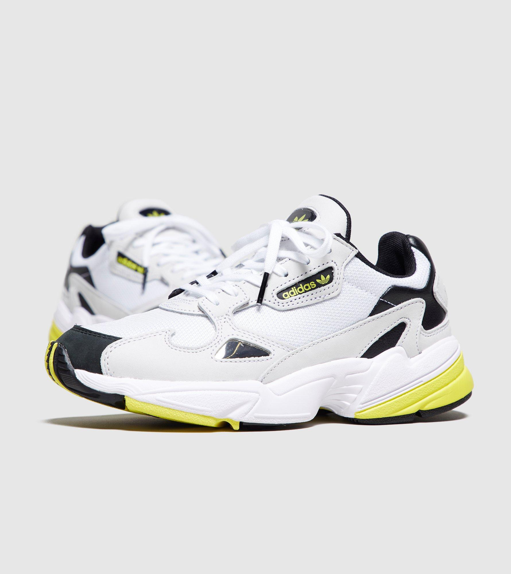 adidas Falcon Womens Running Trainer shoe Ortin Silver White