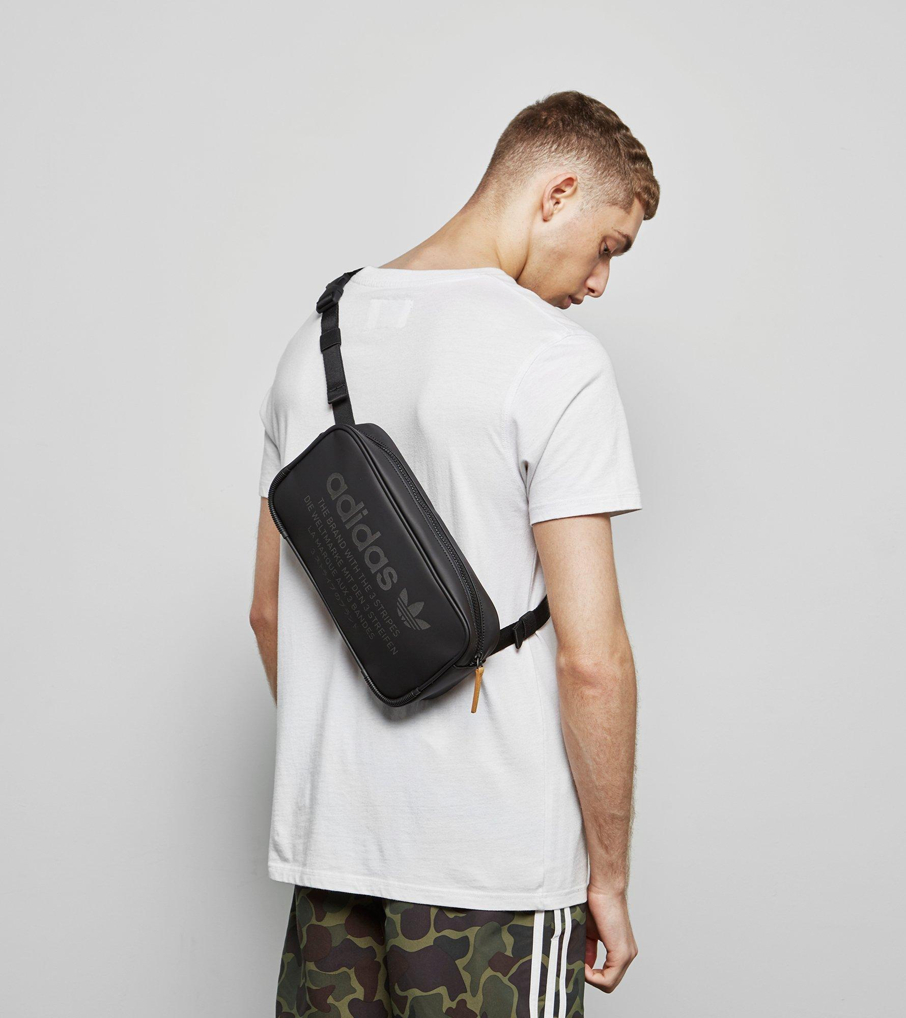 ... Messenger Bags  huge inventory f8c19 3c71d Adidas Originals Nmd Side Bag  in Black for Men - Lyst ... 6243237556