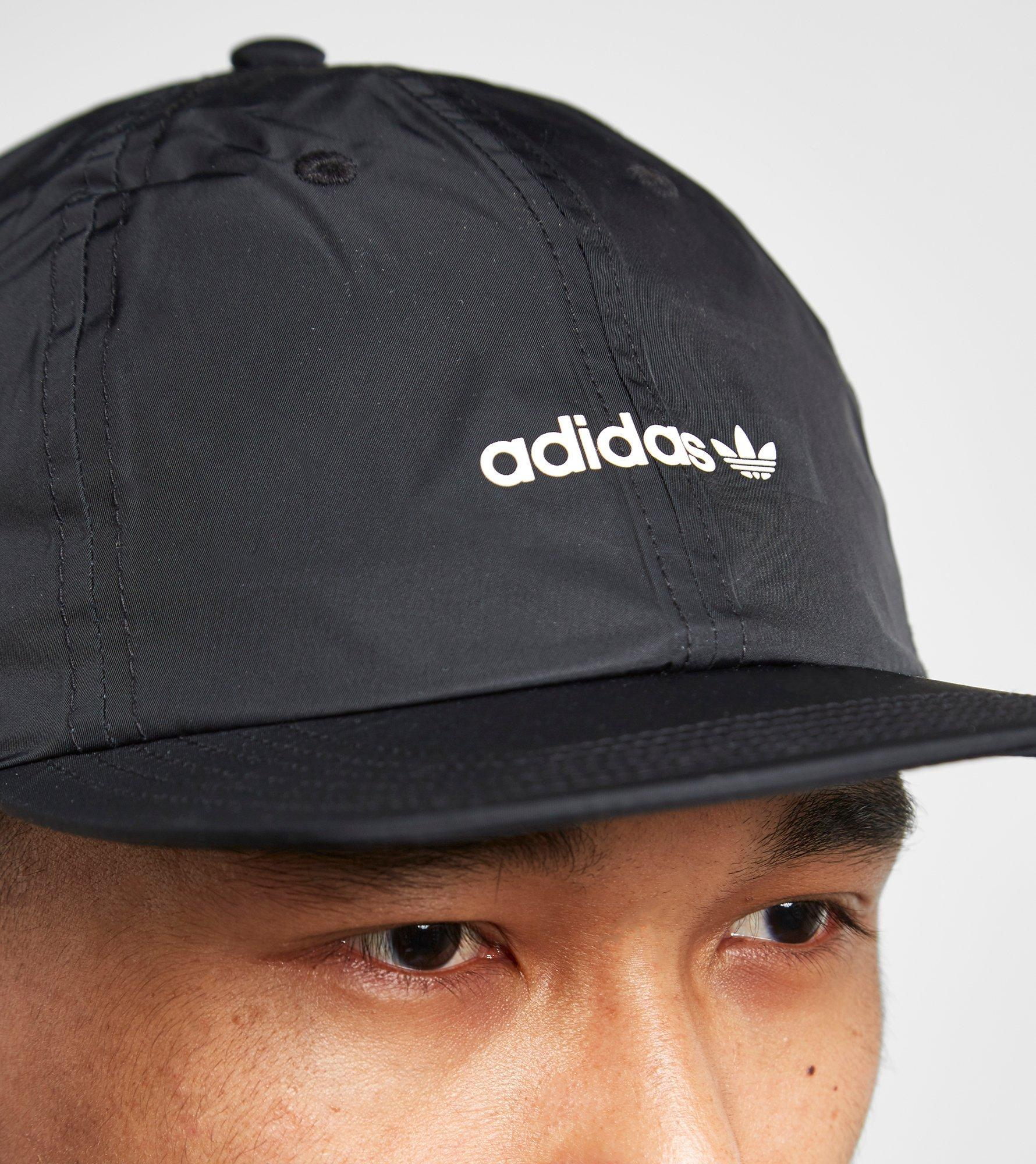 88df87b3ede Lyst - adidas Originals Floppy 6 Panel Cap in Black for Men