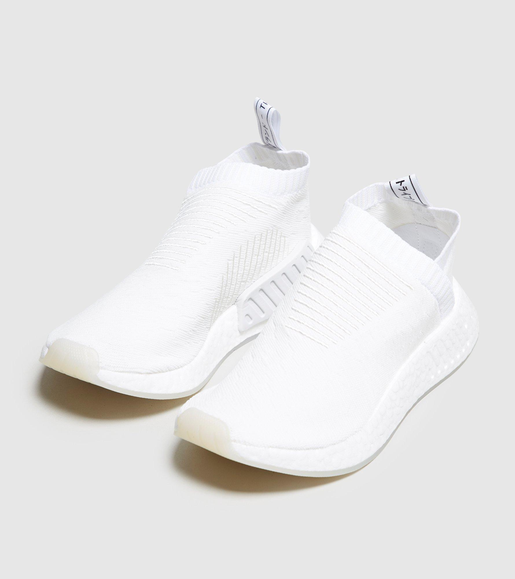 adidas Originals Rubber Nmd_cs2 Primeknit Women's in White