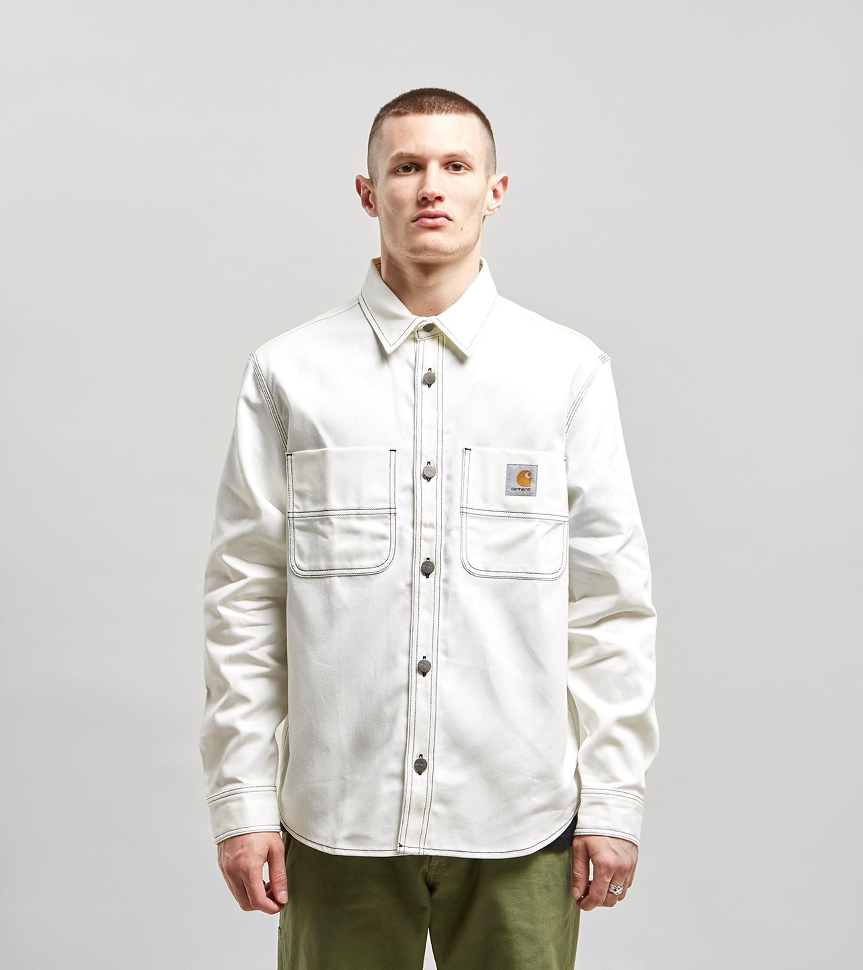 temperament shoes fast delivery uk store Carhartt Chalk Shirt Jacket