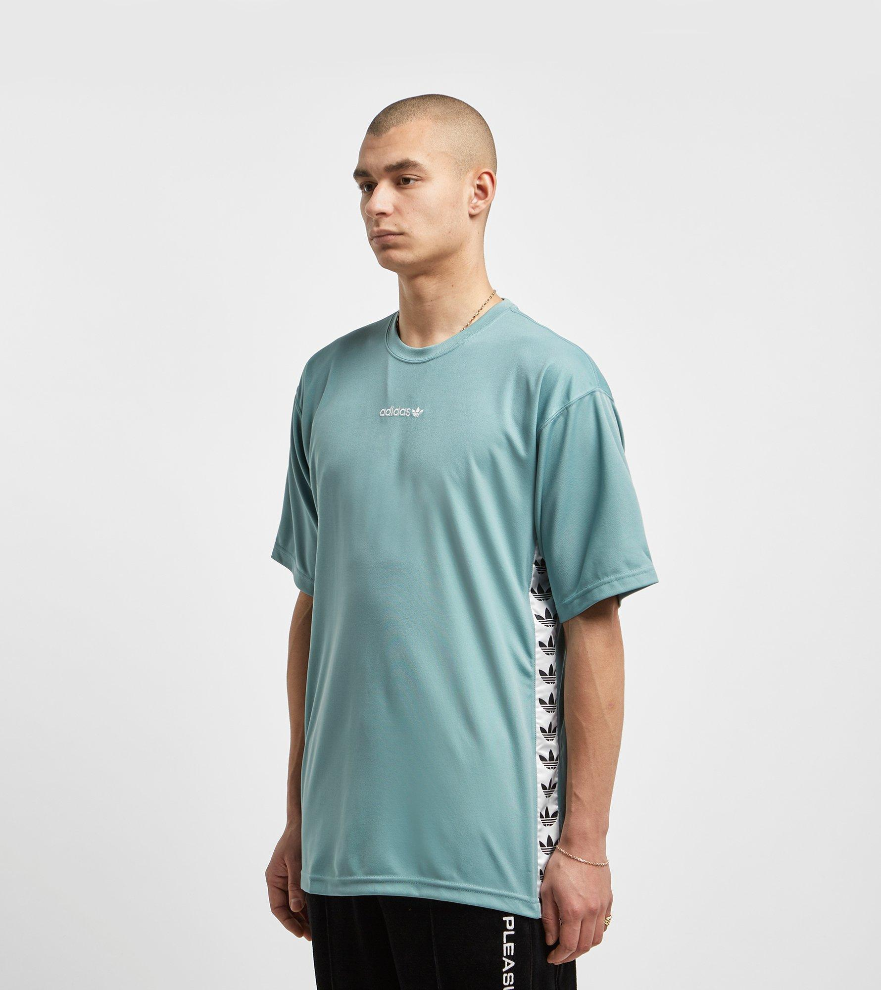 e0e355fd Adidas Originals - Gray Tnt Tape T-shirt - Size? Exclusive for Men -. View  fullscreen