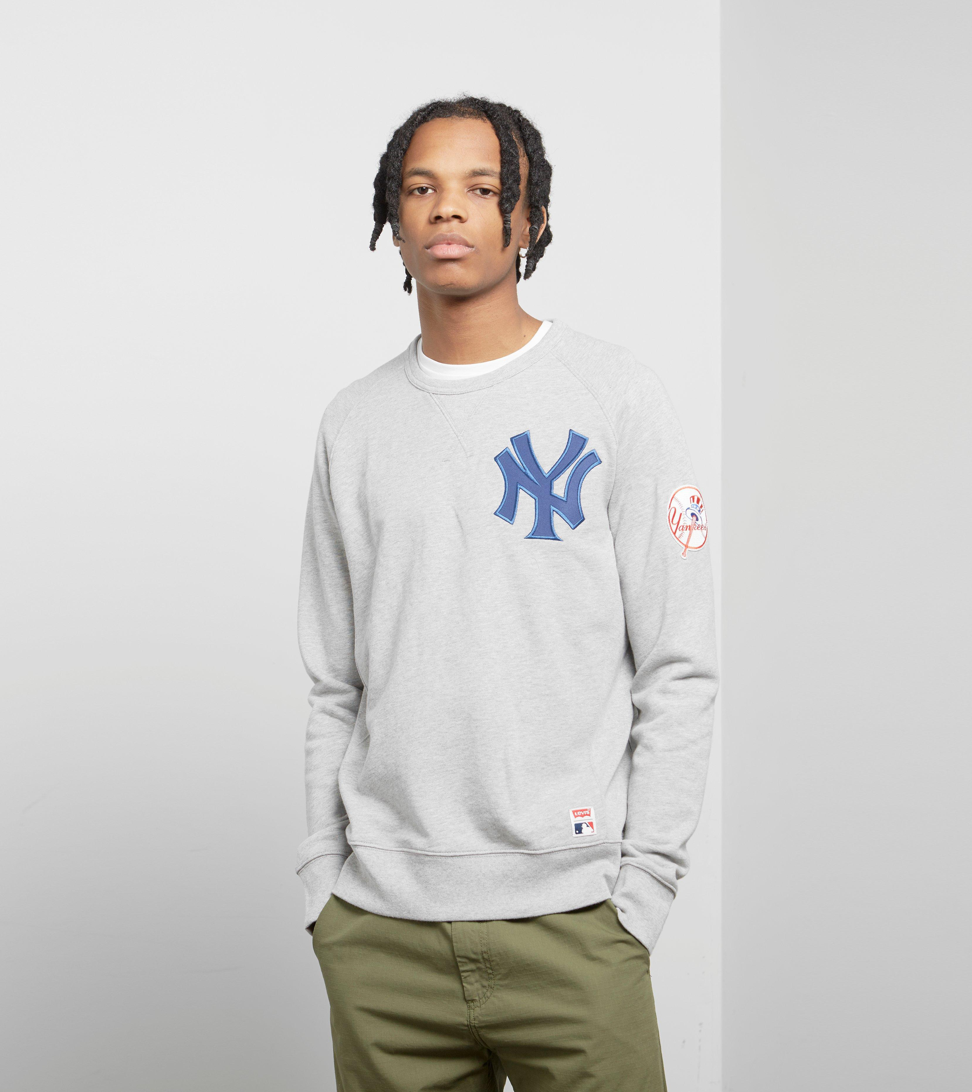 save off f9cc7 26e95 Men's Gray Levis X Mlb New York Yankees Sweatshirt
