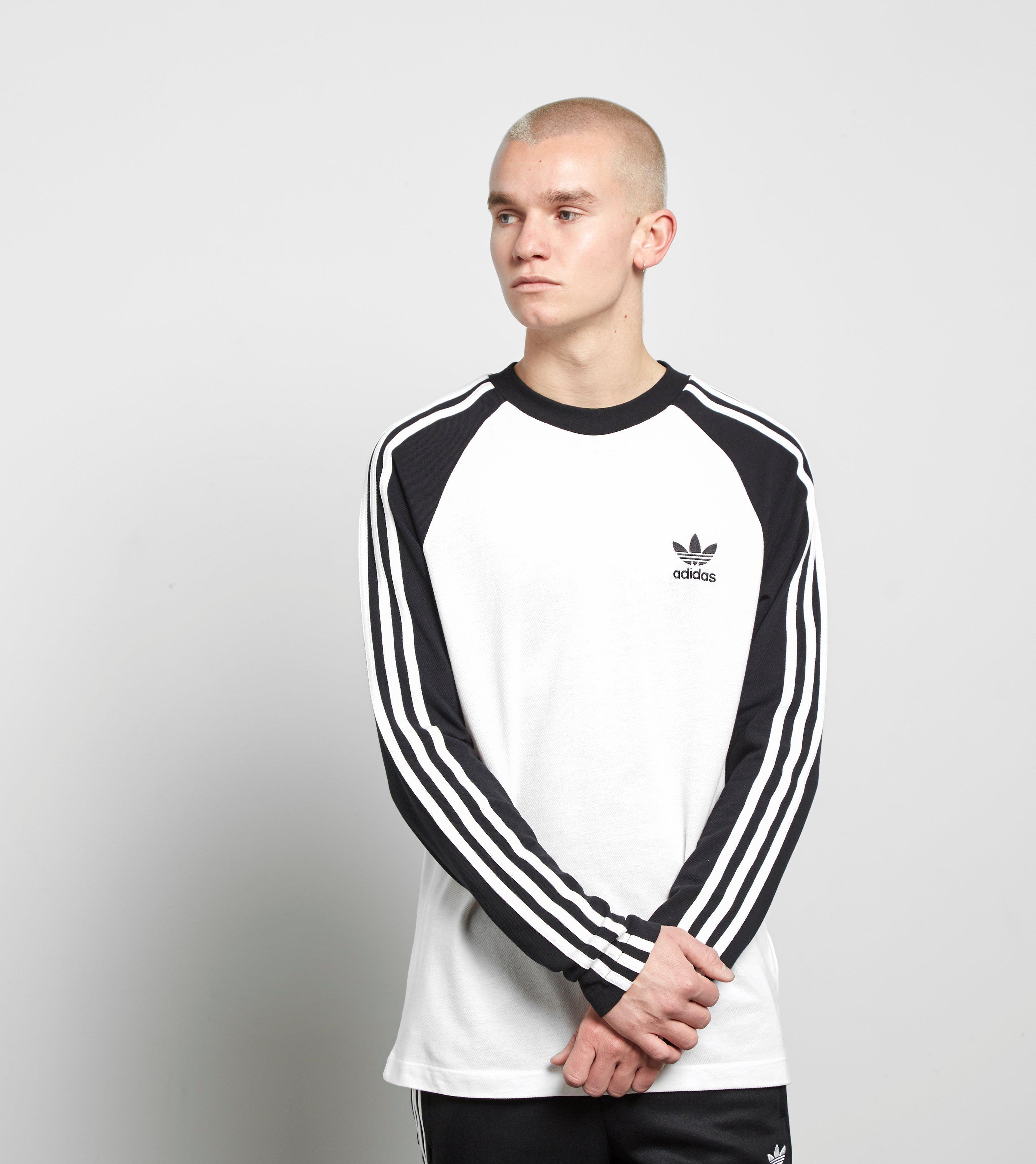 adidas classic 3 stripe t shirt