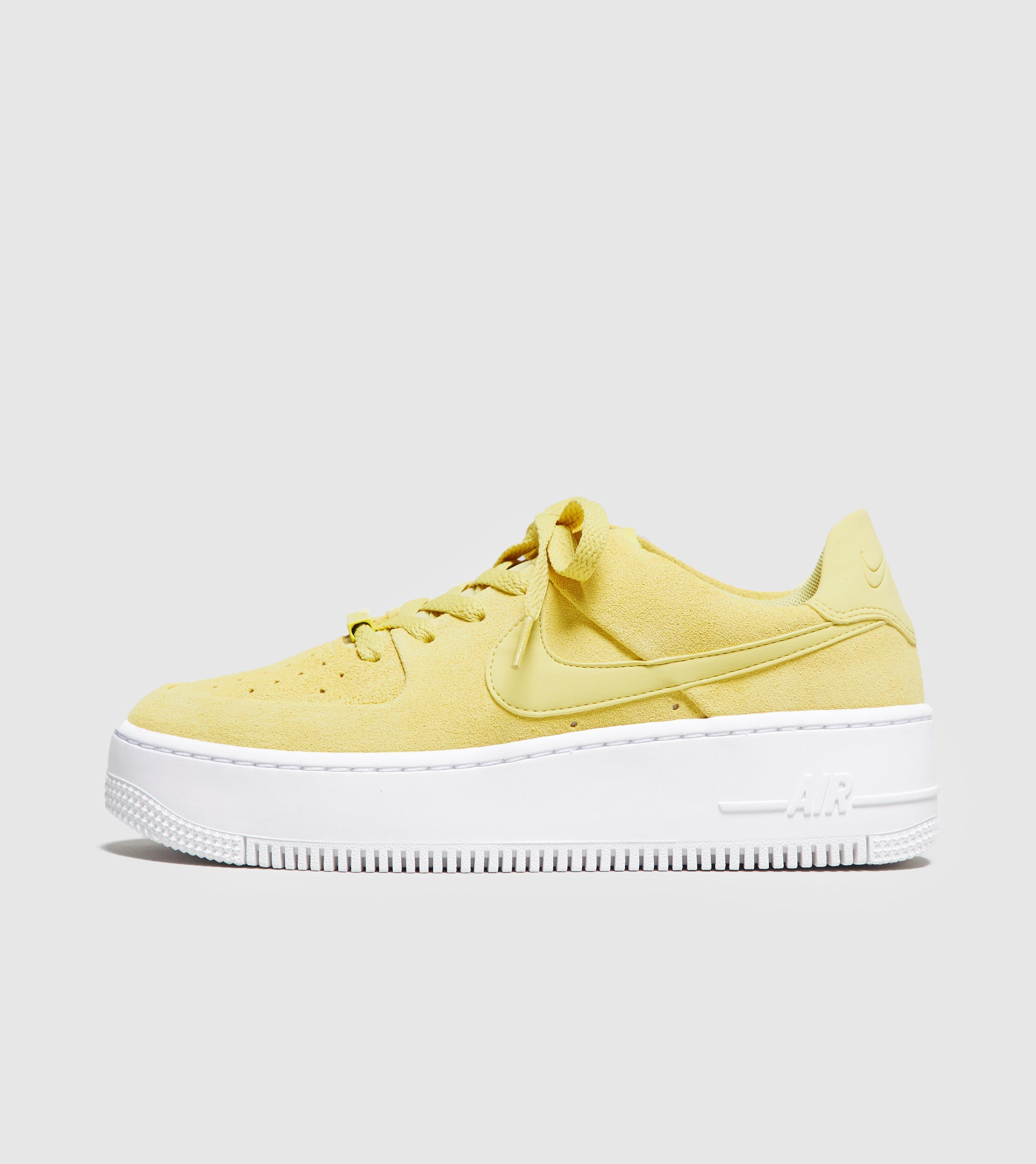79f8f673d05 Nike Yellow Air Force 1 Sage Low Women's