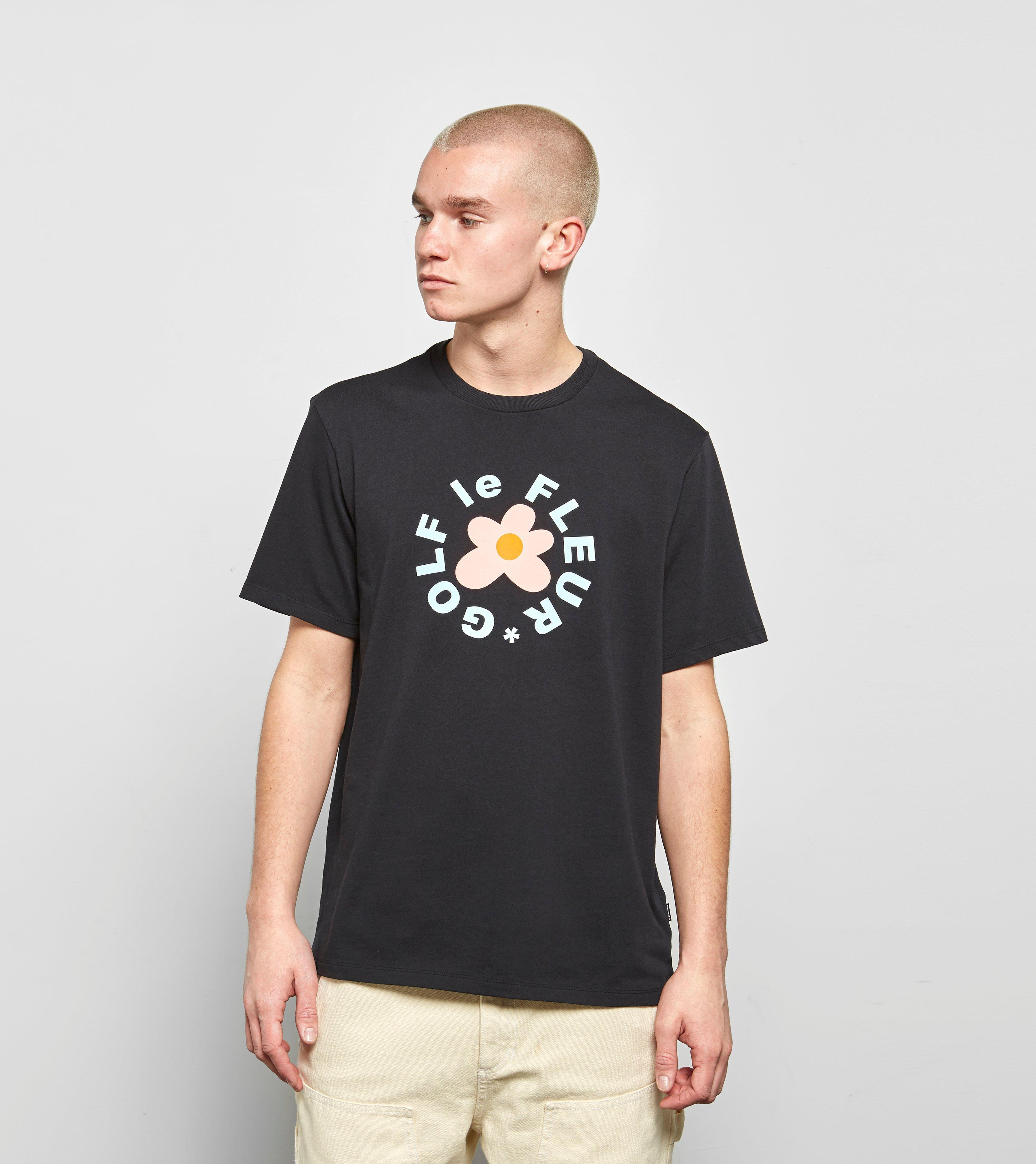 2559b4205955 Lyst - Converse X Tyler Golf Le Fleur T-shirt in Black for Men
