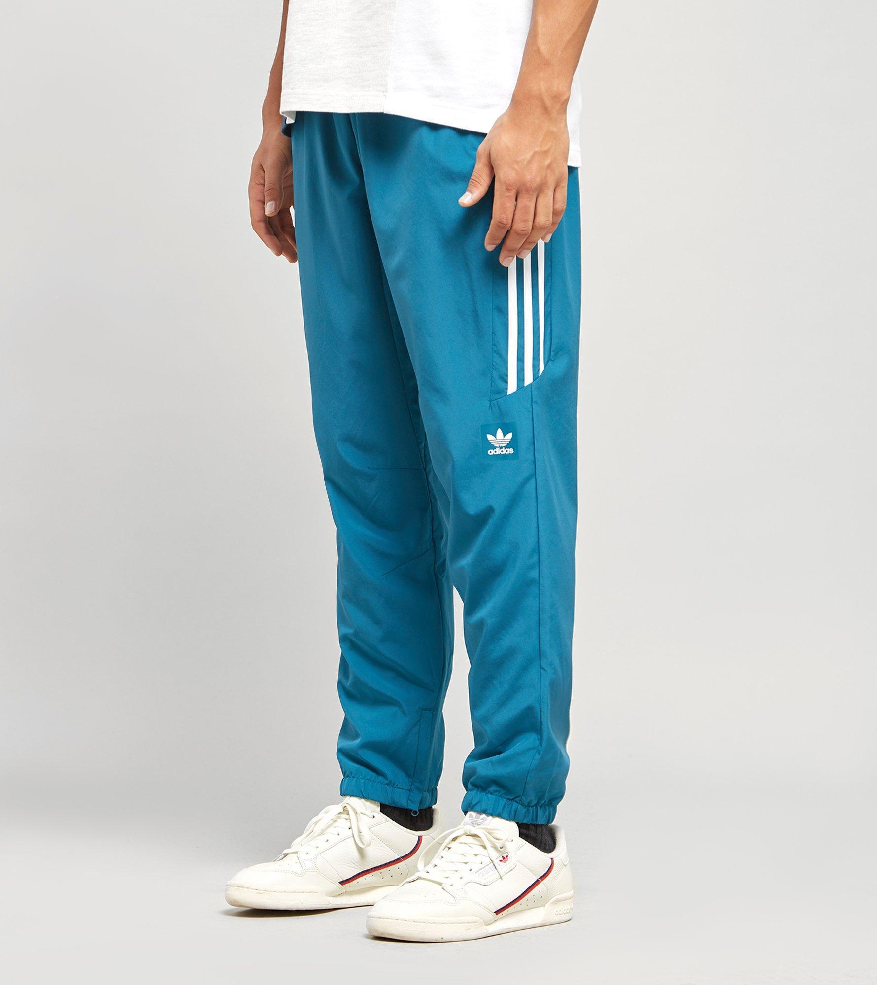 adidas Pantalon Classic Wind WhiteReal Teal