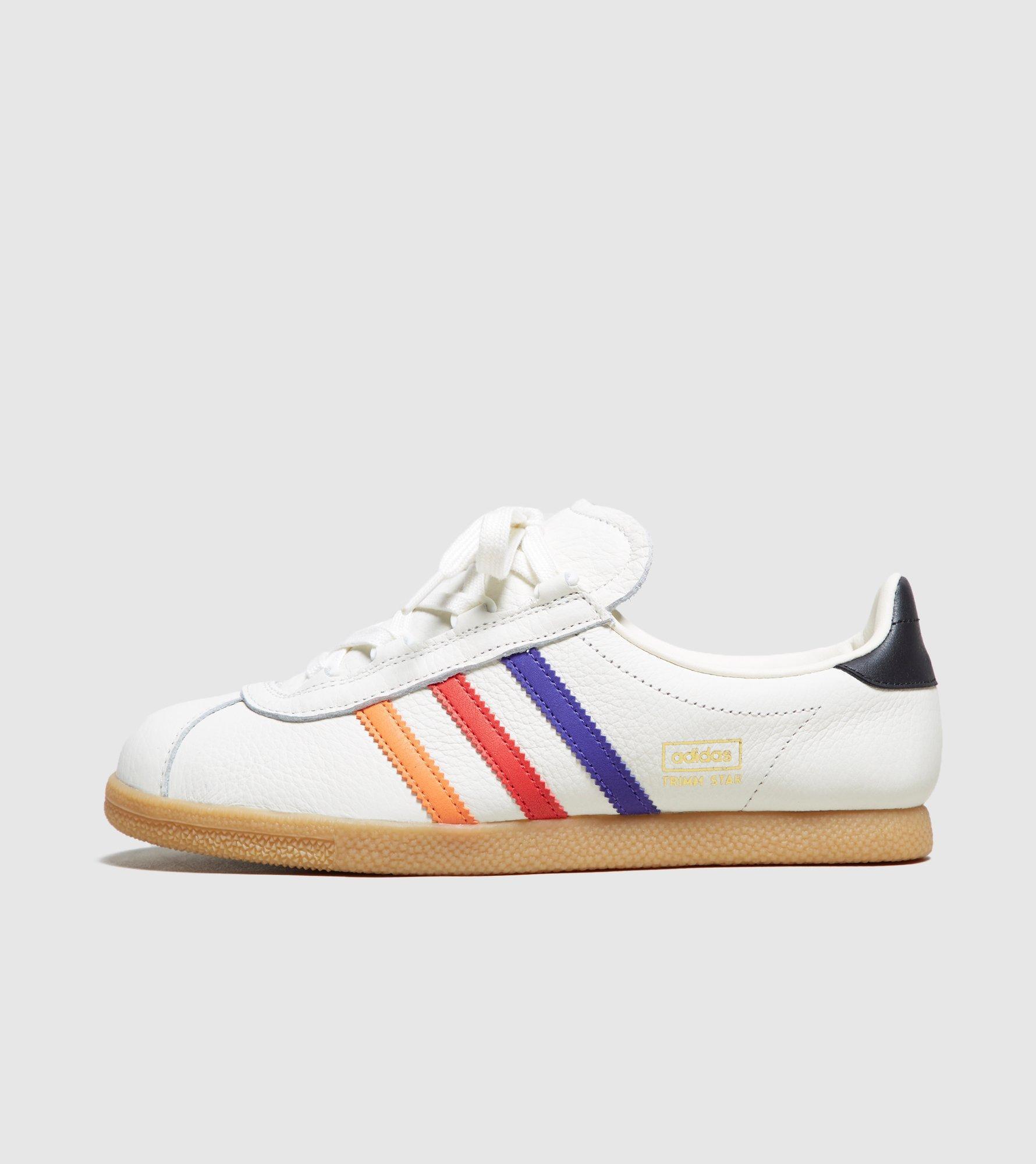 Adidas Originals White Trimm Star ?vhs? Size? Exclusive Women's