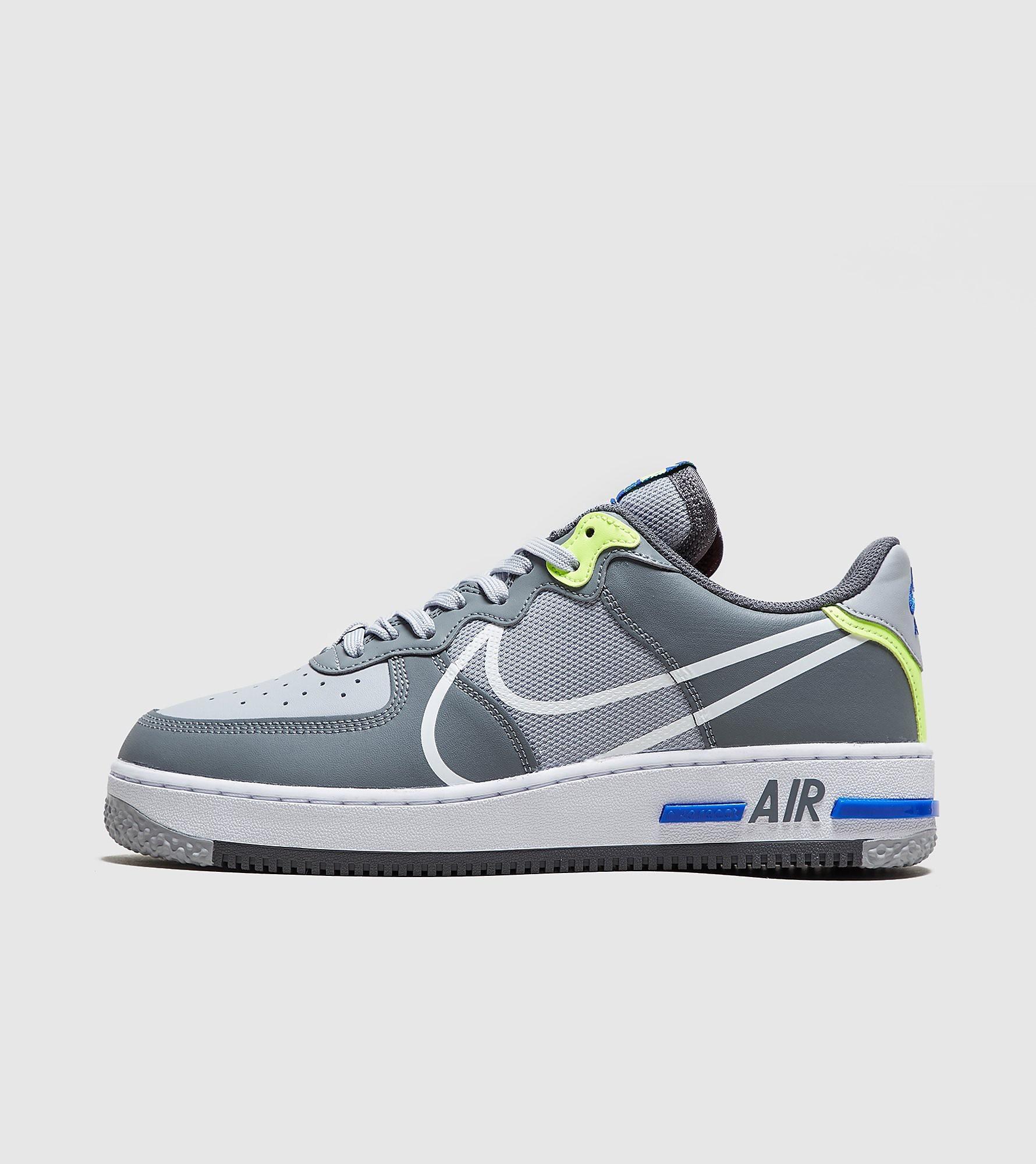 Air Force 1 React Homme Nike pour homme en coloris Gris - Lyst