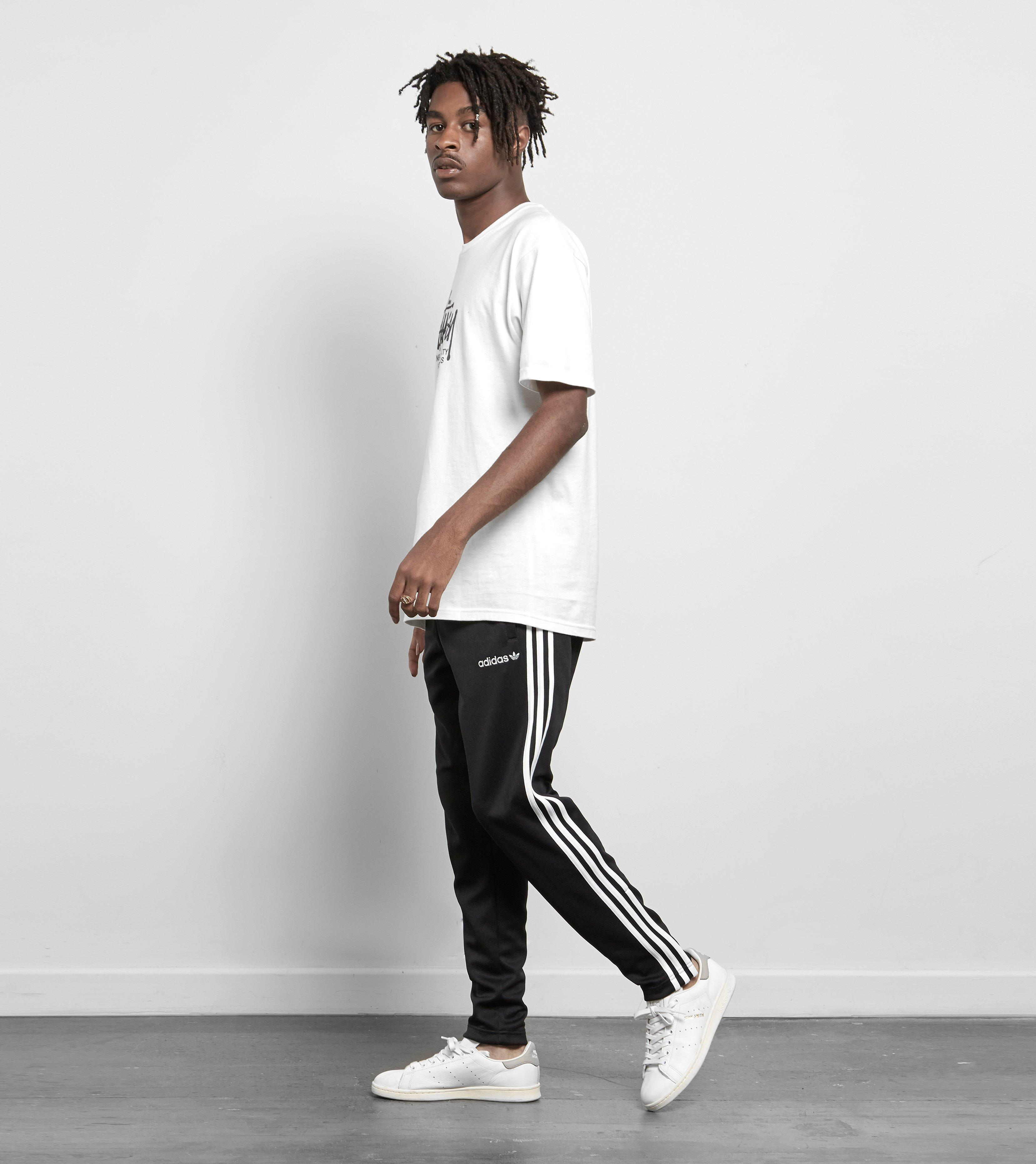 Adidas Originals Black Superstar Taper Track Pant Size? Exclusive for men