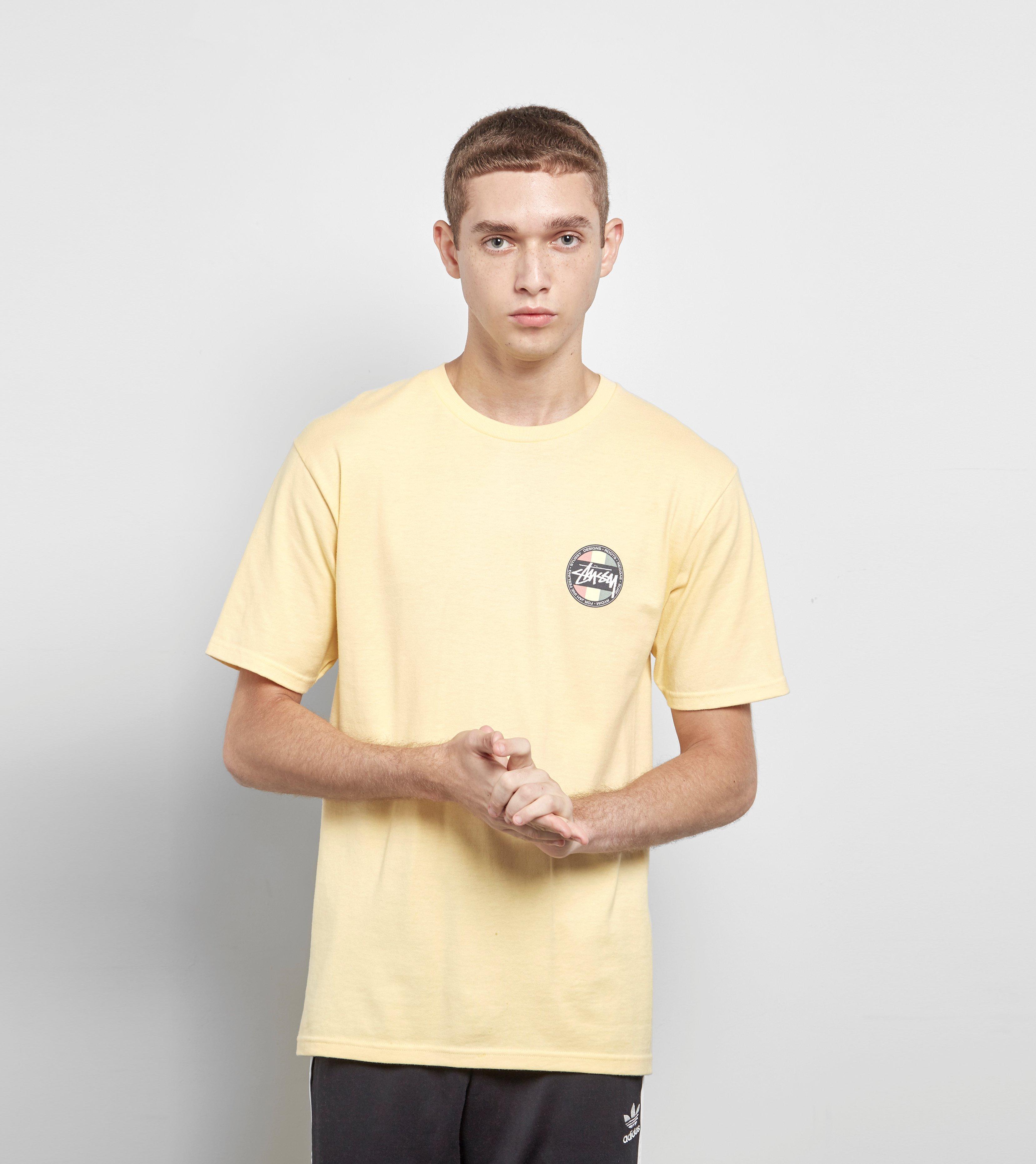 38ac4fd5b5e Stussy Reggae Surf Dot T-shirt for Men - Lyst