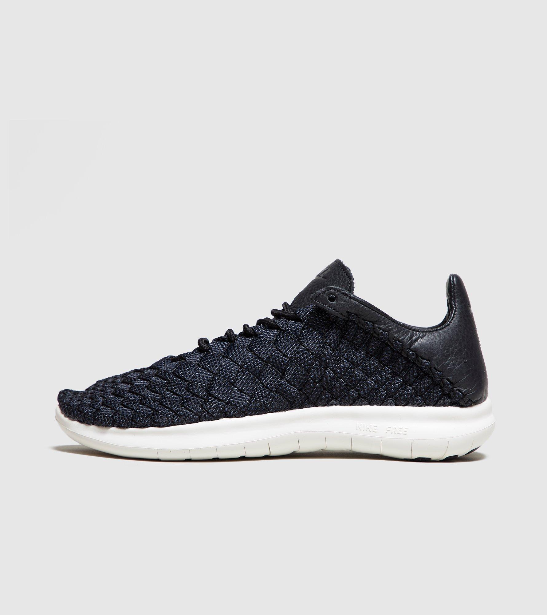 premium selection 8965d 6930f Nike Free Inneva Woven Motion in Black for Men - Lyst