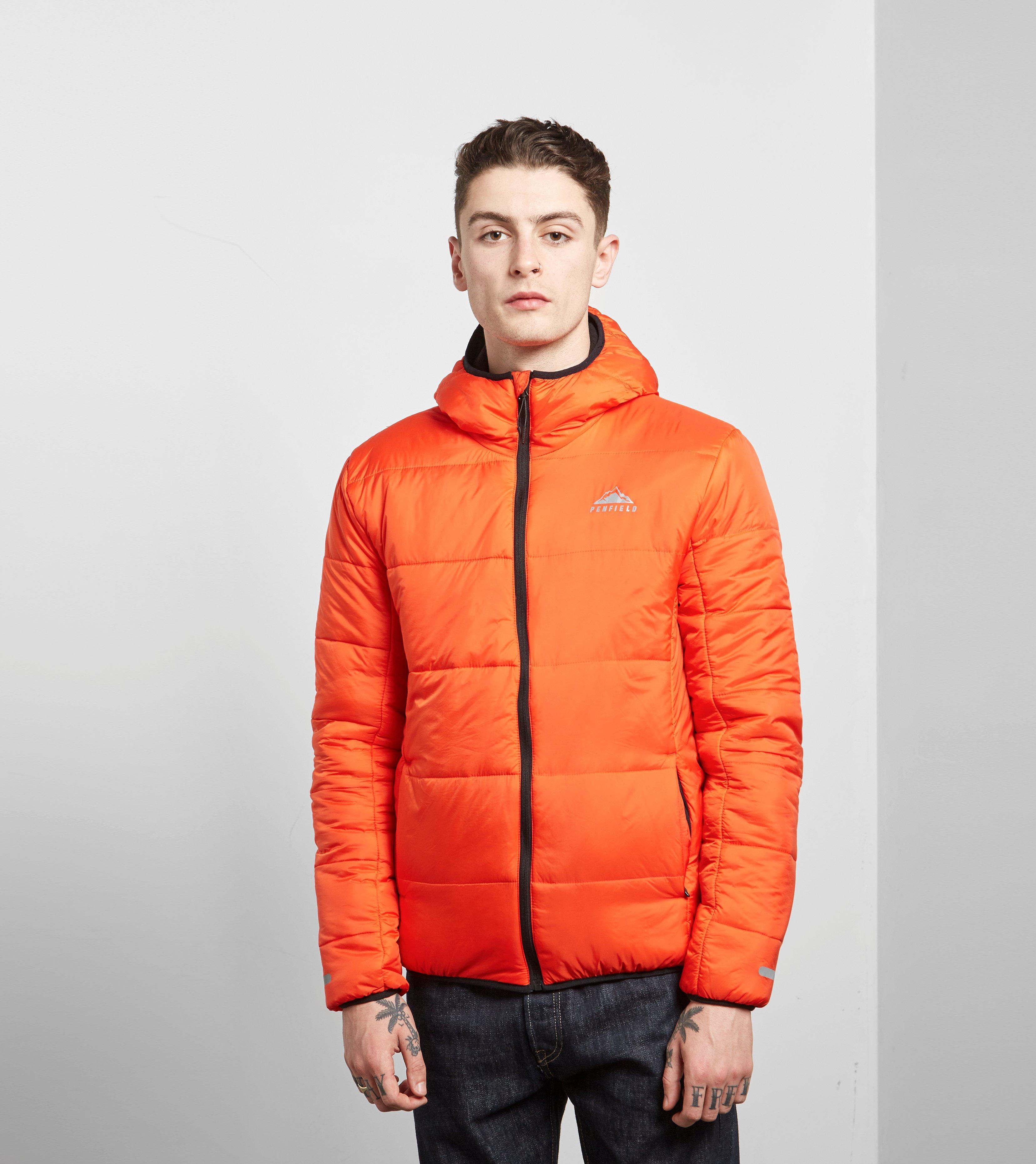 Penfield Schofield Jacket In Orange For Men