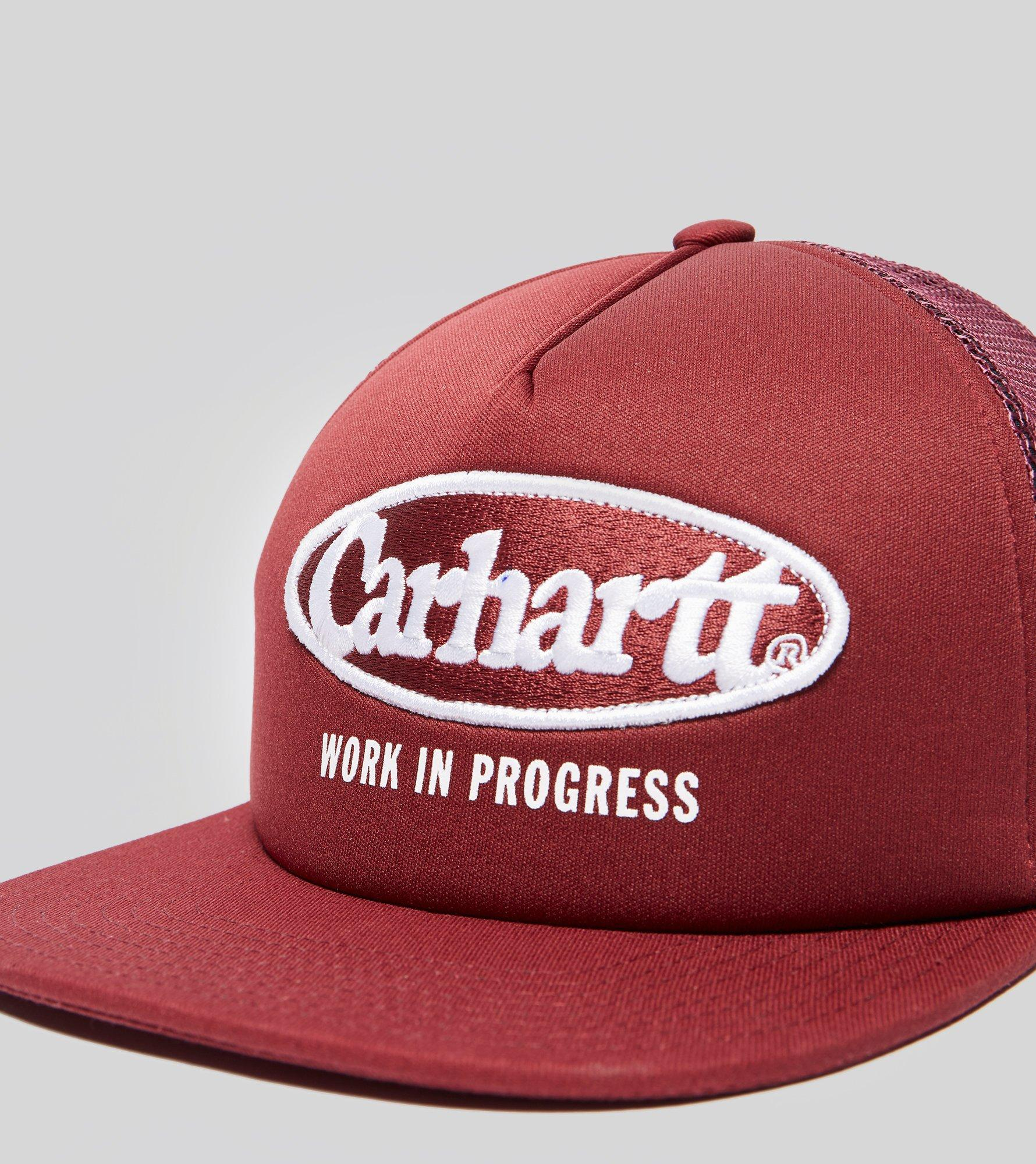 c16bfd59132 Lyst - Carhartt WIP Oval Trucker in Red for Men