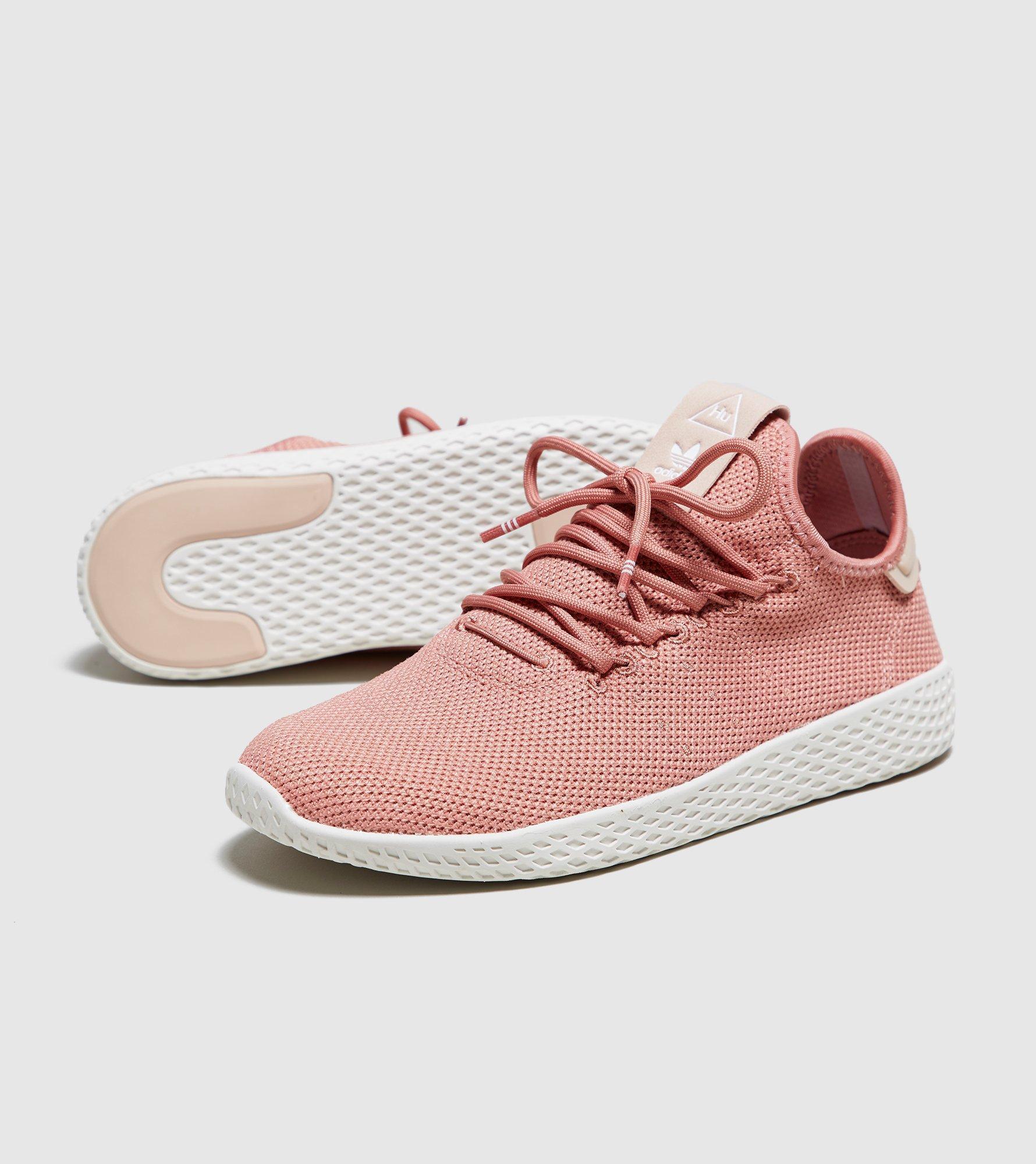 f74eda070 adidas Originals Pharrell Williams Tennis Hu Trainers in Pink - Lyst