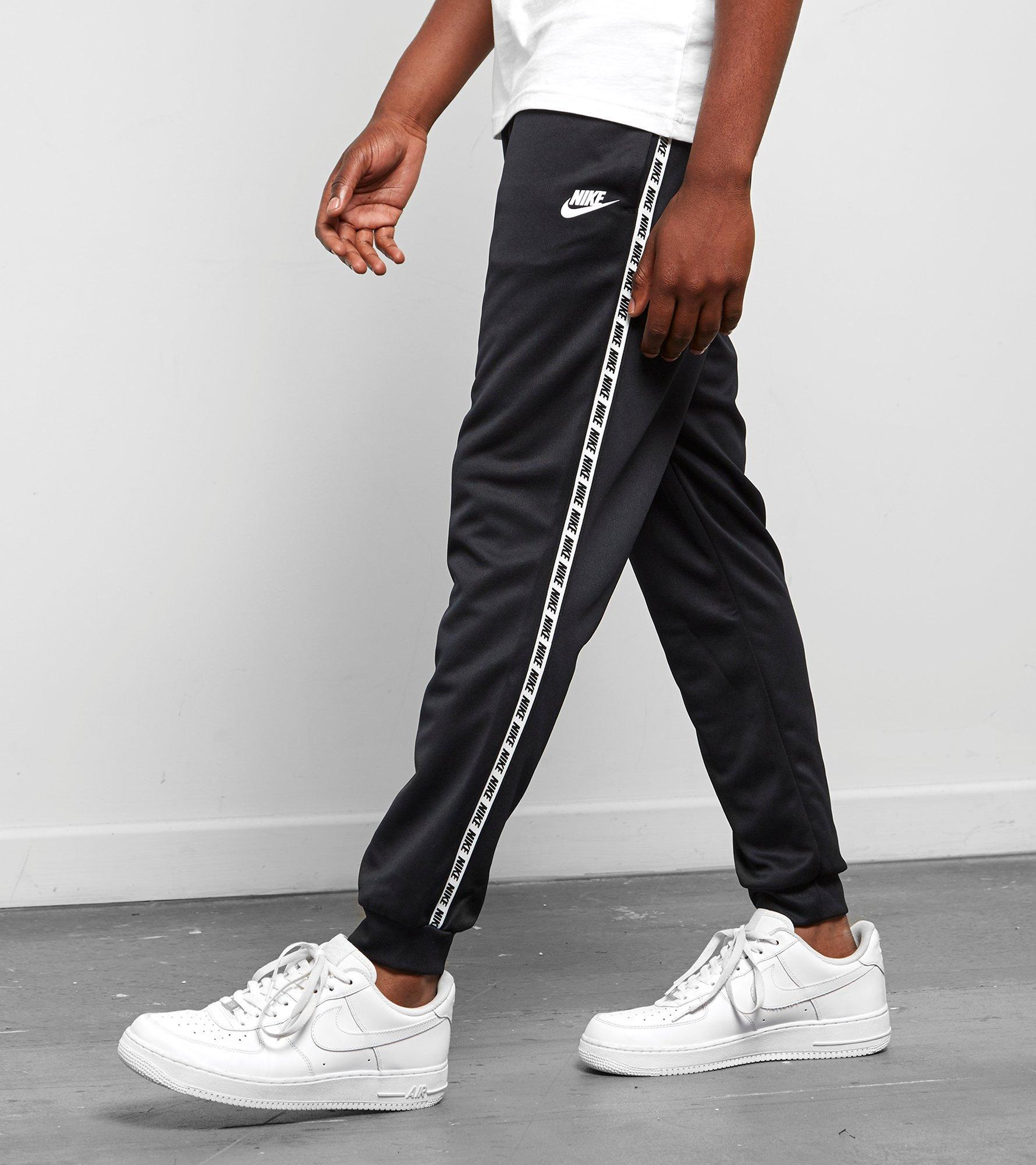 9c590ed49 Nike Gel Tape Cuffed Track Pants in Black for Men - Lyst