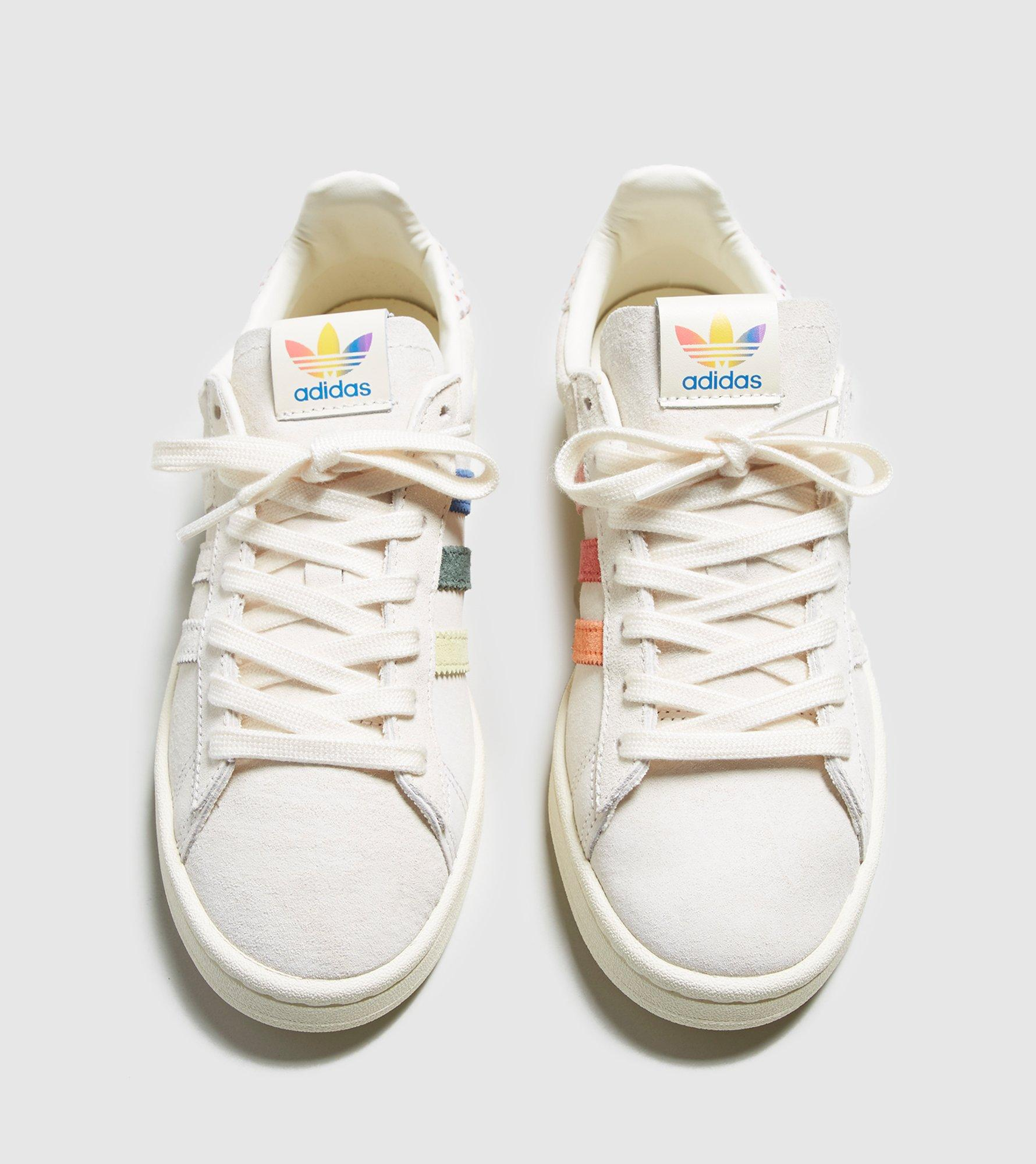 b43f4d2dea3 Adidas Originals White Campus Pride Women's