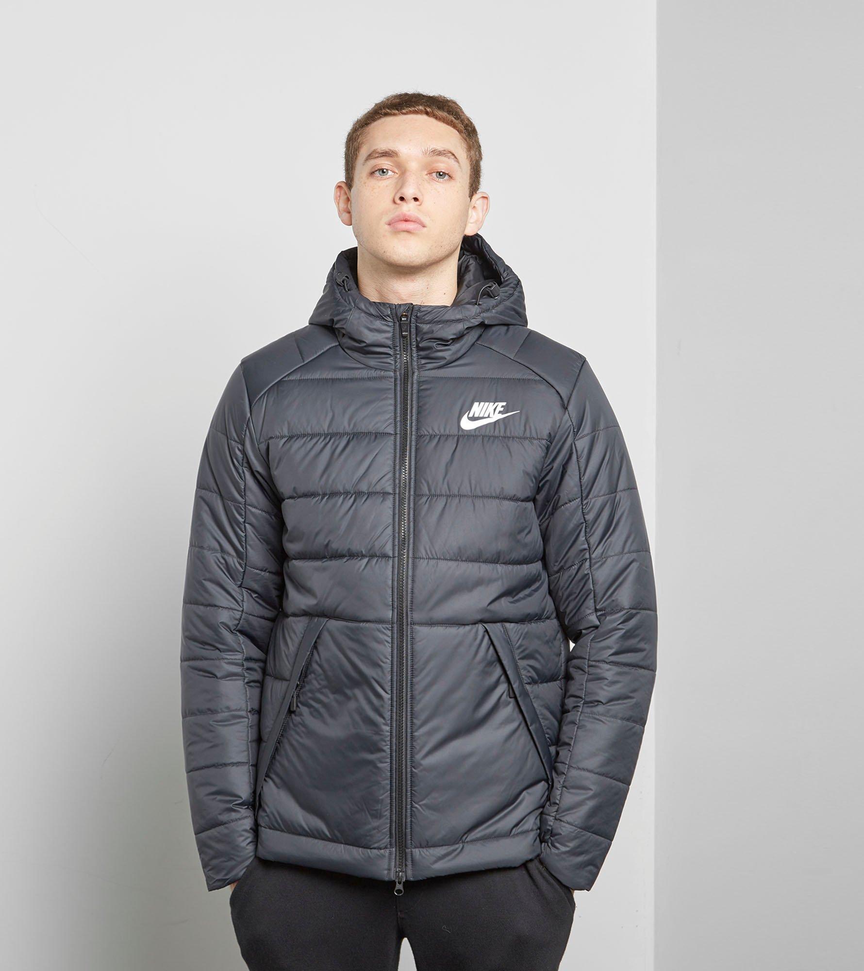 Nike Bubble Jacket In Black For Men Lyst