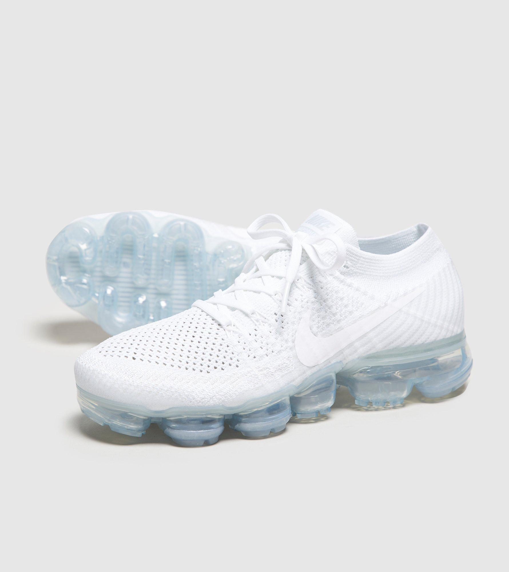 quality design c1016 61478 White Air Vapormax Flyknit 2 Women's