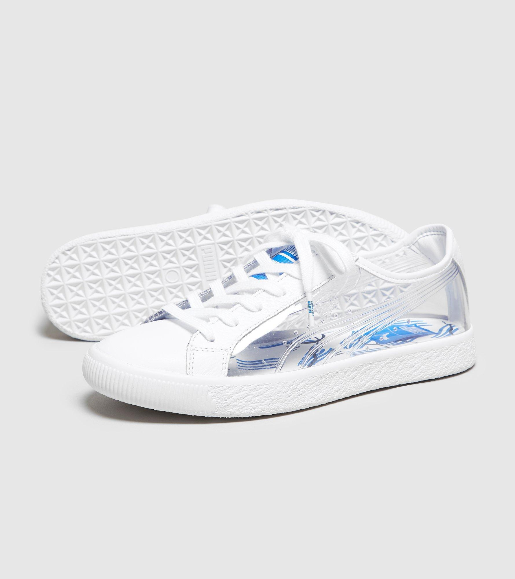 the best attitude 0d77c bfef7 PUMA White X Shantell Martin Clyde Clear Women's