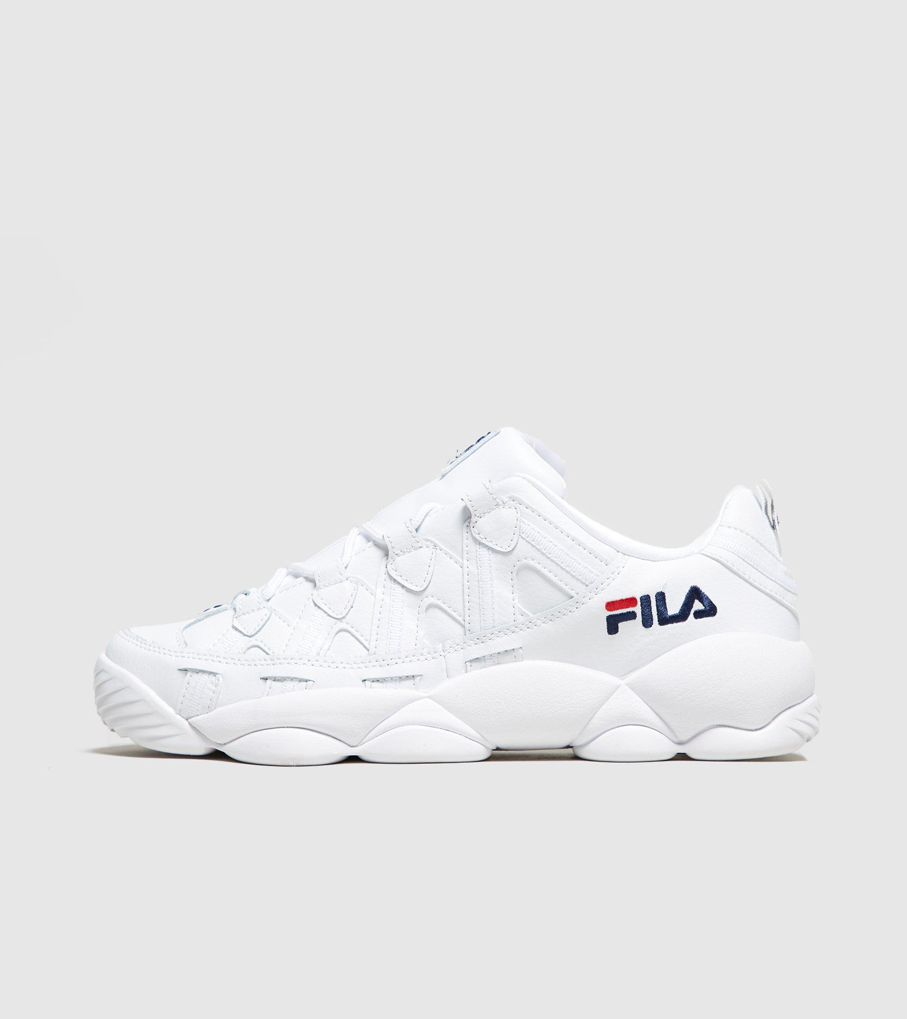 Fila Leather Spaghetti Low in White/Navy (White) for Men - Lyst