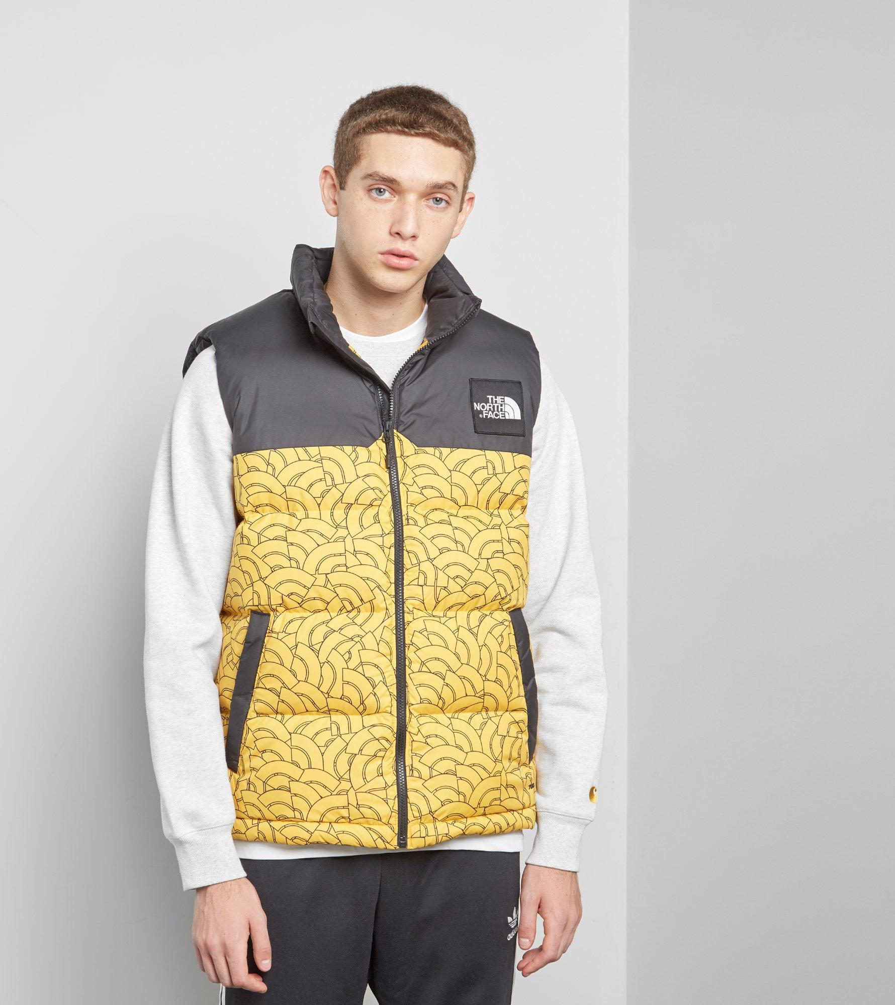 58d9b3bff The North Face Yellow 1992 Nuptse Vest for men