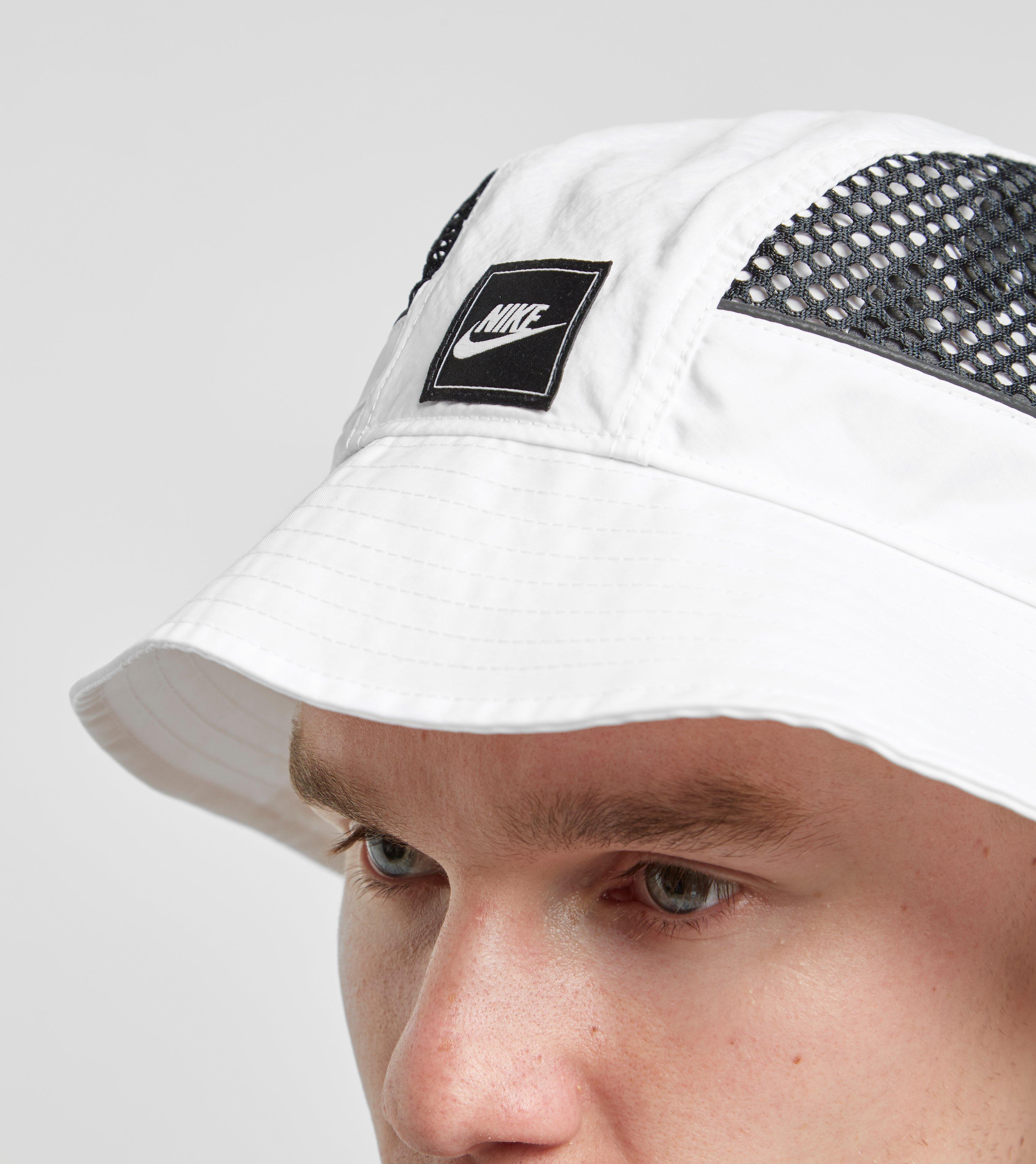 26e660716 Lyst - Nike Nsw Swoosh Mesh Bucket Hat in White for Men