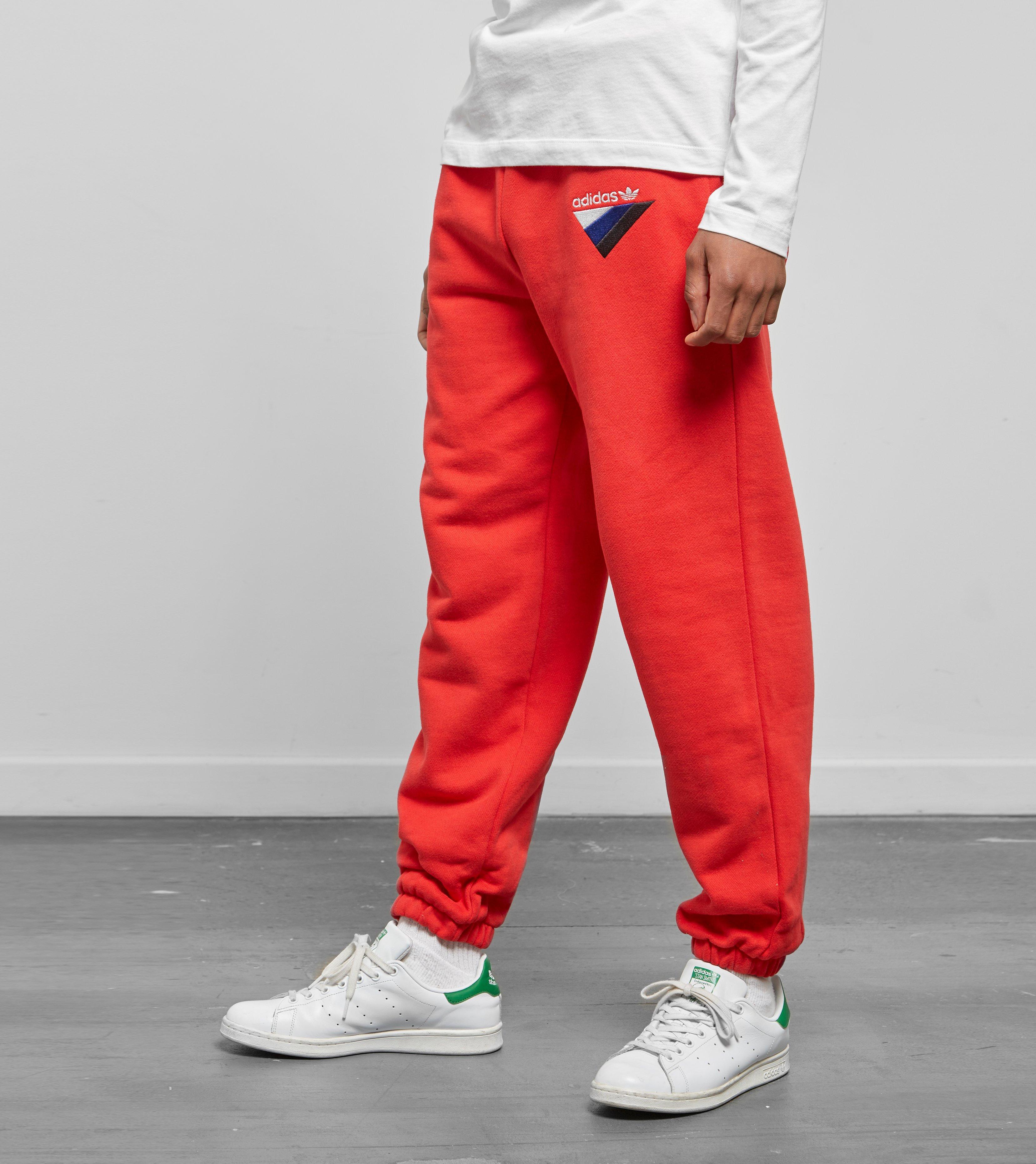 adidas Originals Cotton Anichkov Pants in Red for Men Lyst