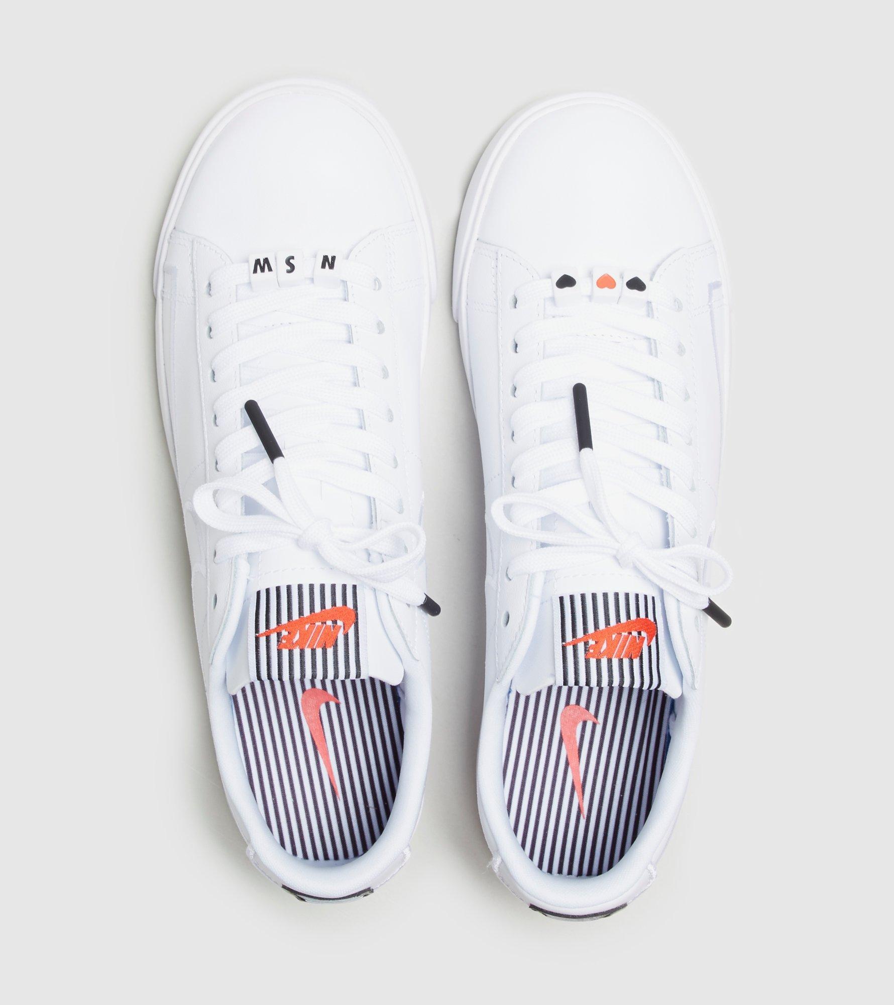 7cdd3ba41ce31 ... Lyst Nike Blazer Low Lx valentine s Day Women s in White for Men