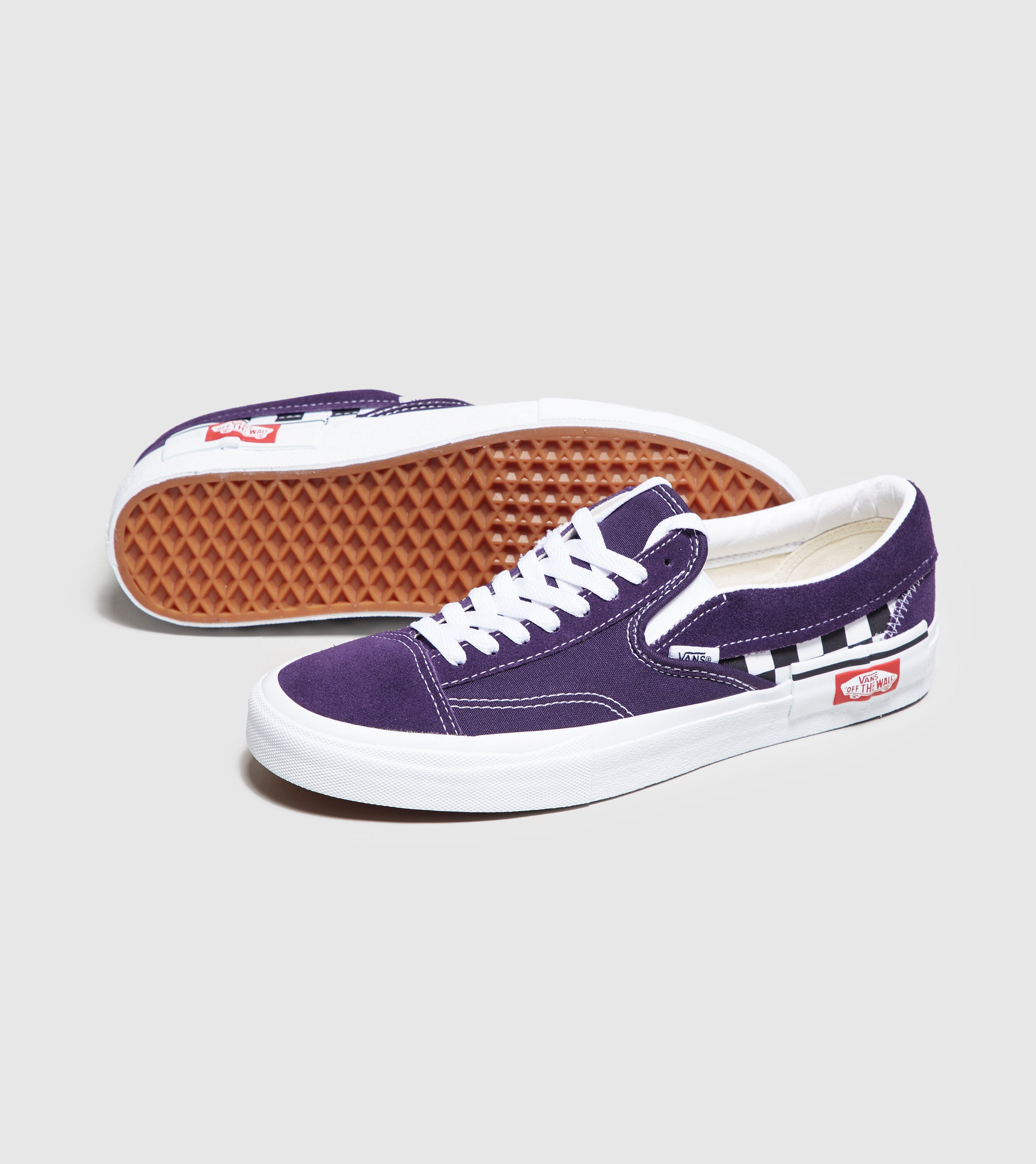 Lyst - Vans Slip-on Cap Checkerboard In Mysterioso in Purple for Men ... 7651f5ff6