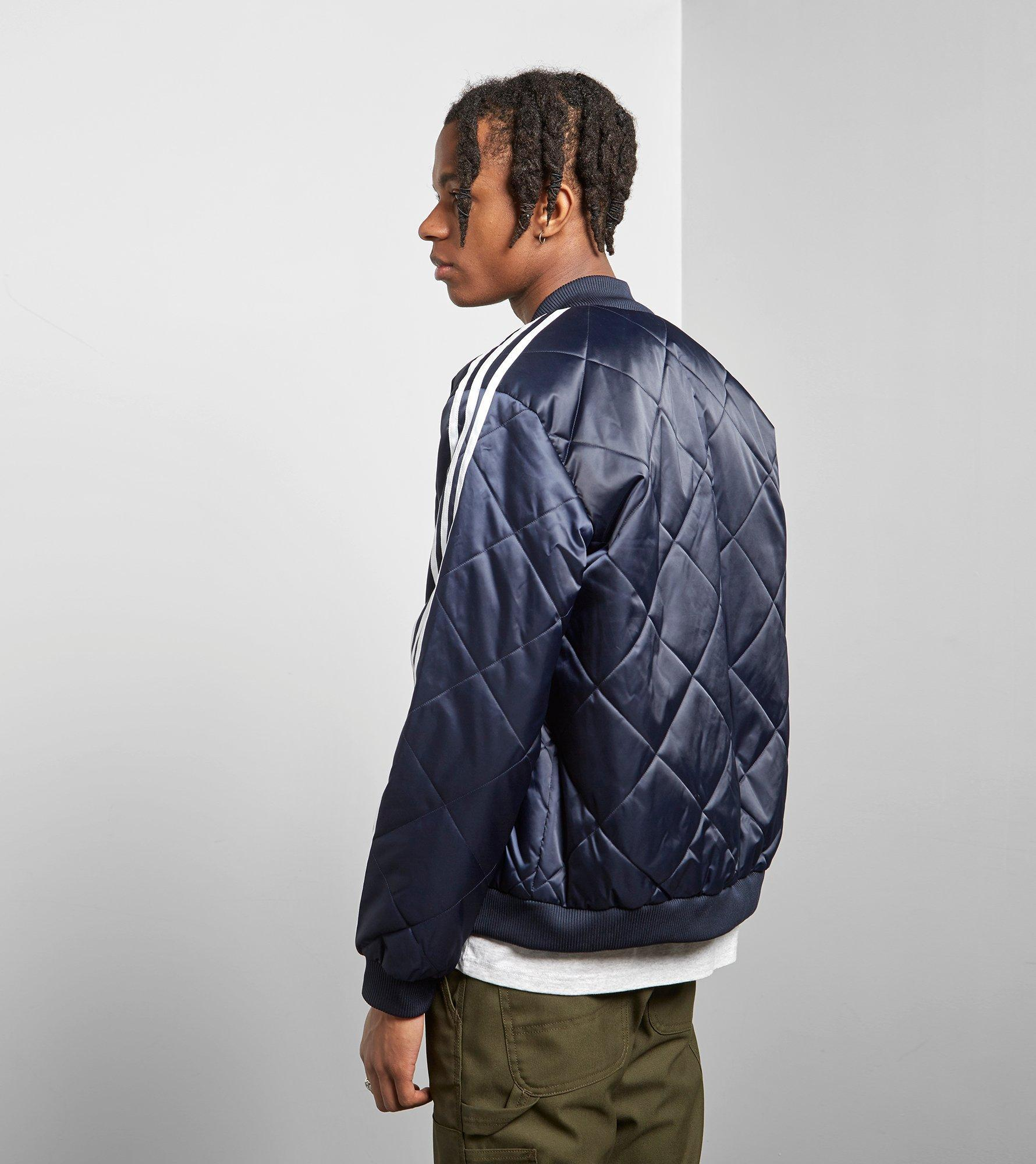 f733ce196 Lyst - adidas Originals Sst Quilted Jacket in Blue for Men
