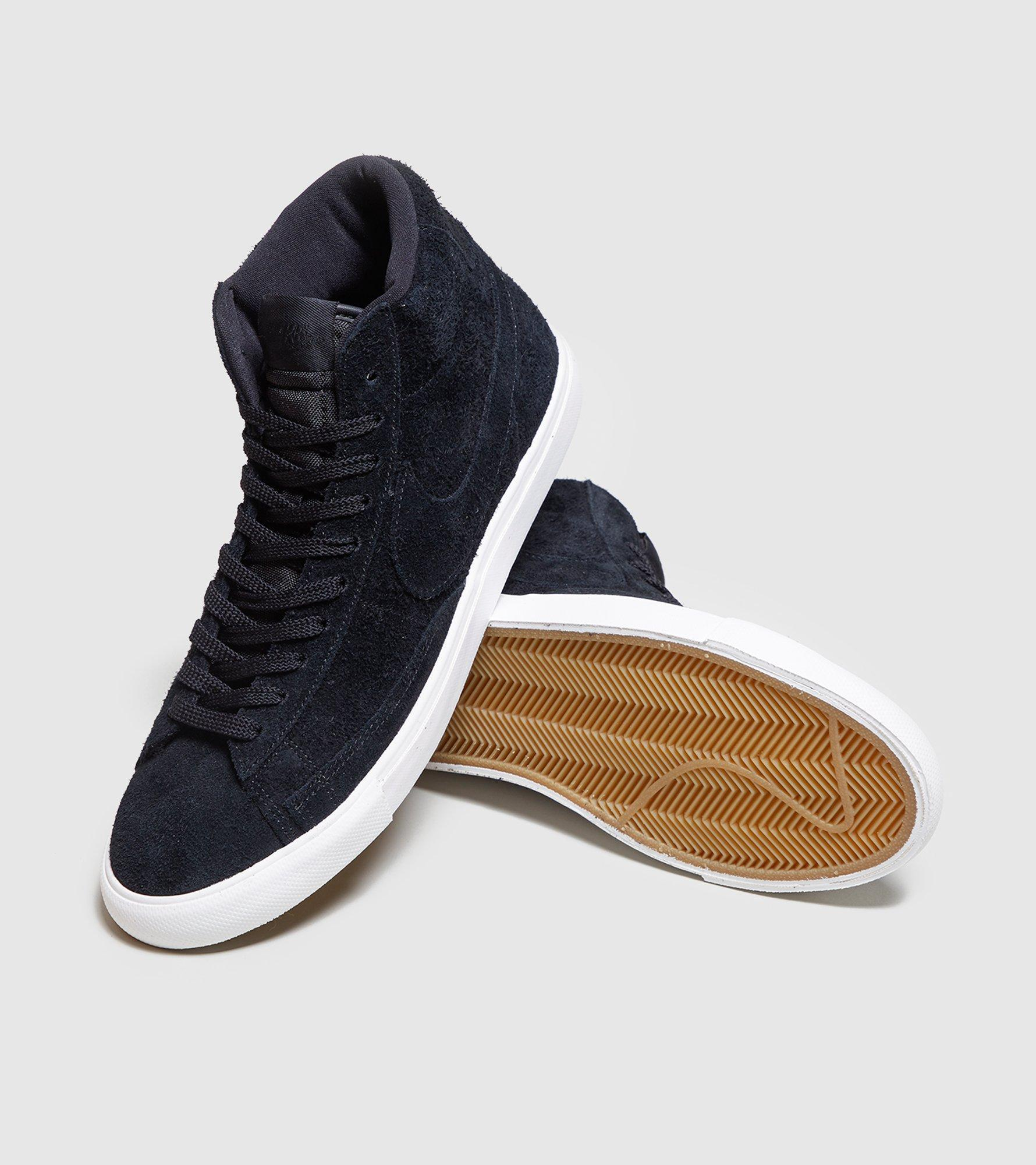 new concept 0c722 ca0af Men's Black Blazer Hi Vintage Suede