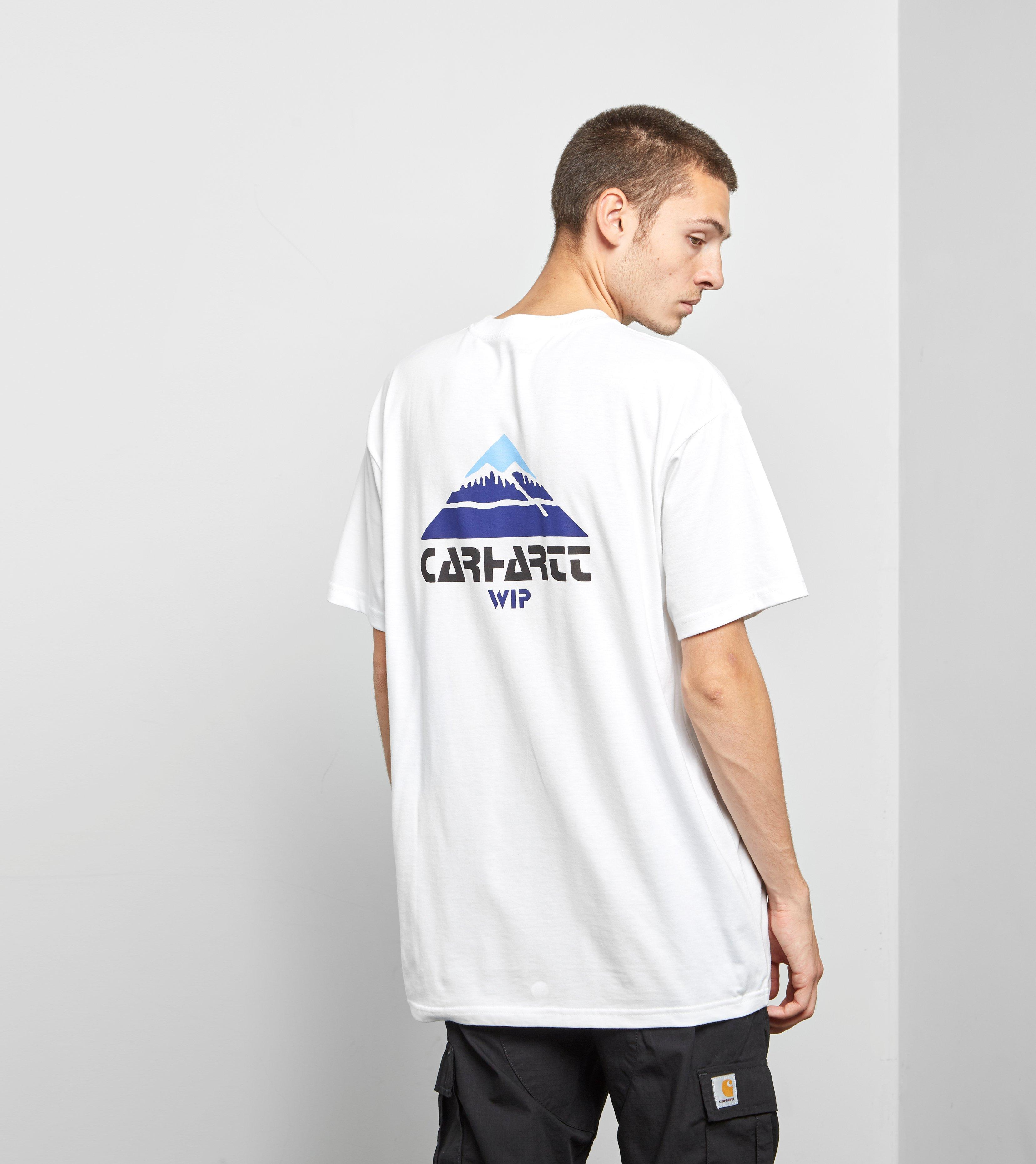 a530962c Carhartt WIP Mountain T-shirt in White for Men - Lyst