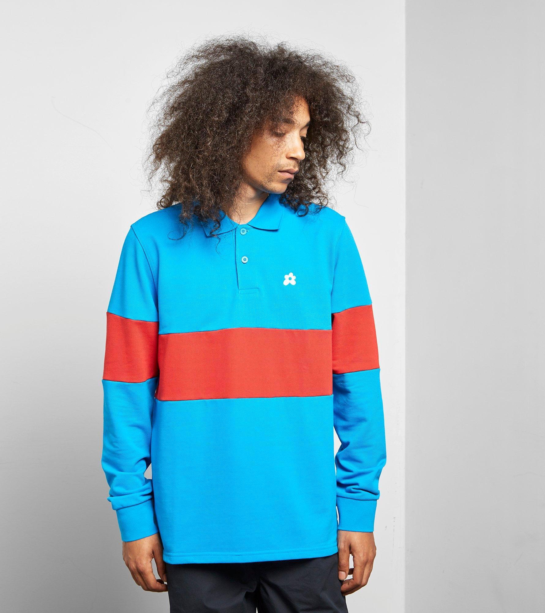 5e1404ef5532 Converse X Tyler Golf Le Fleur Long Sleeve Polo Shirt in Blue for ...