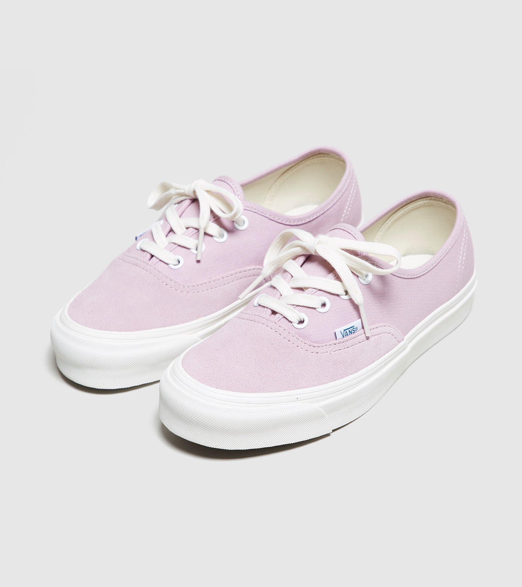 lyst vans og authentic lx womens in purple