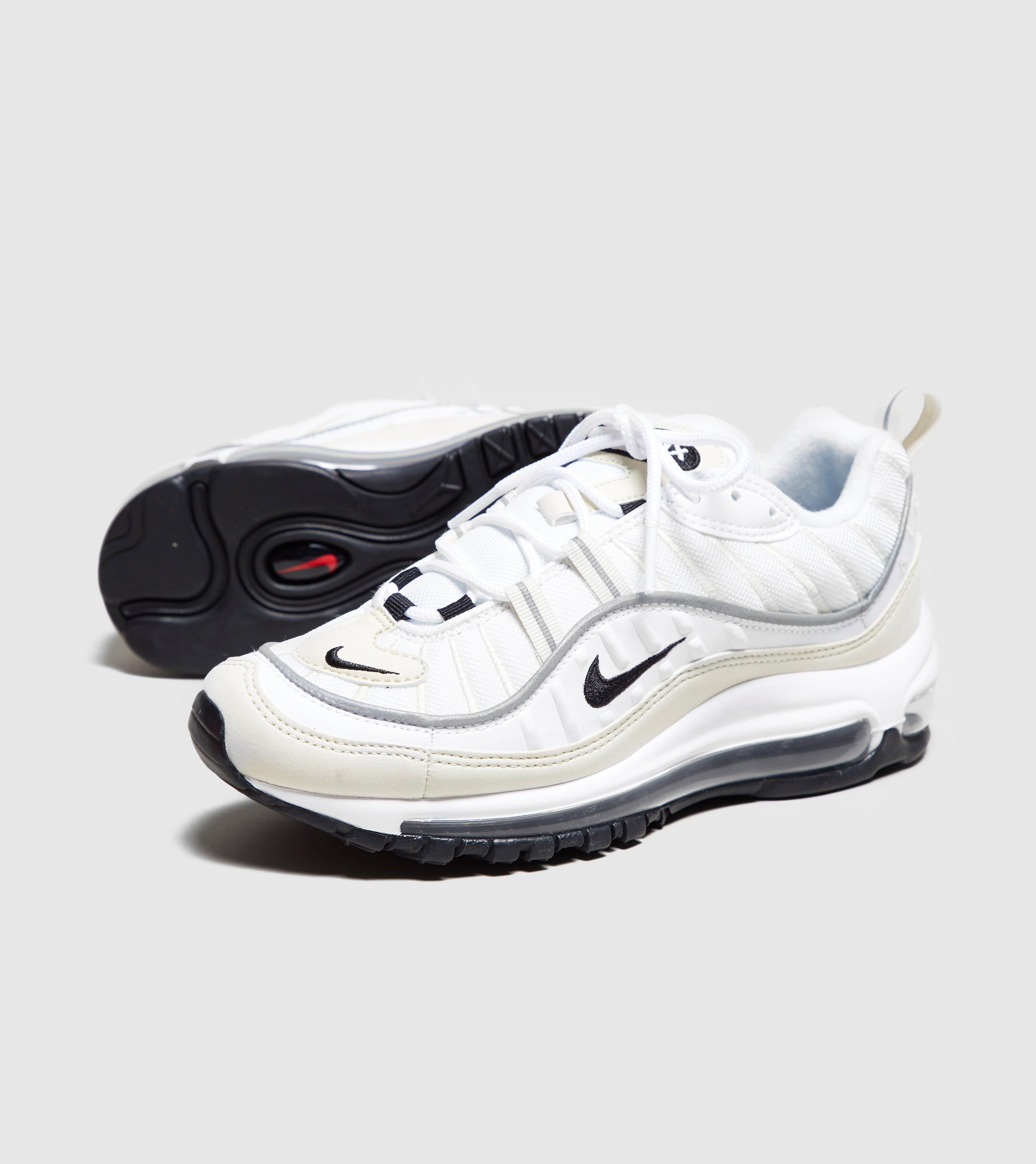 wholesale dealer b913b afaf8 White Air Max 98 'fossil' Women's
