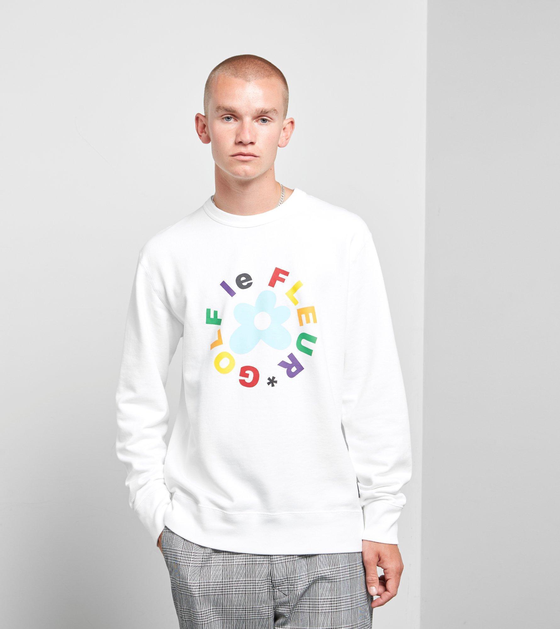 Converse Cotton X Tyler Golf Le Fleur Crew Sweatshirt in