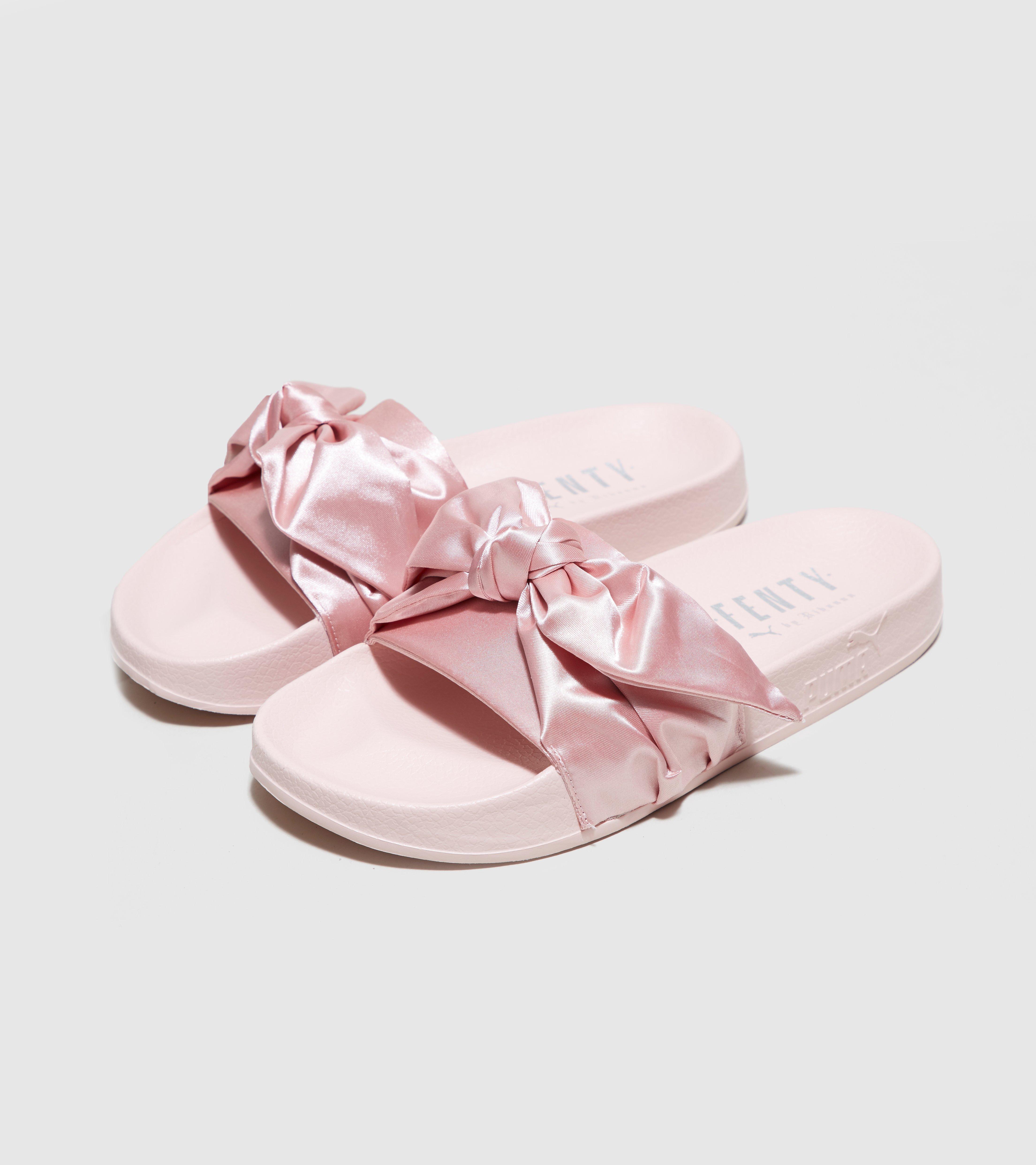san francisco 30cb9 dea47 Pink Fenty Bow Slide Women's