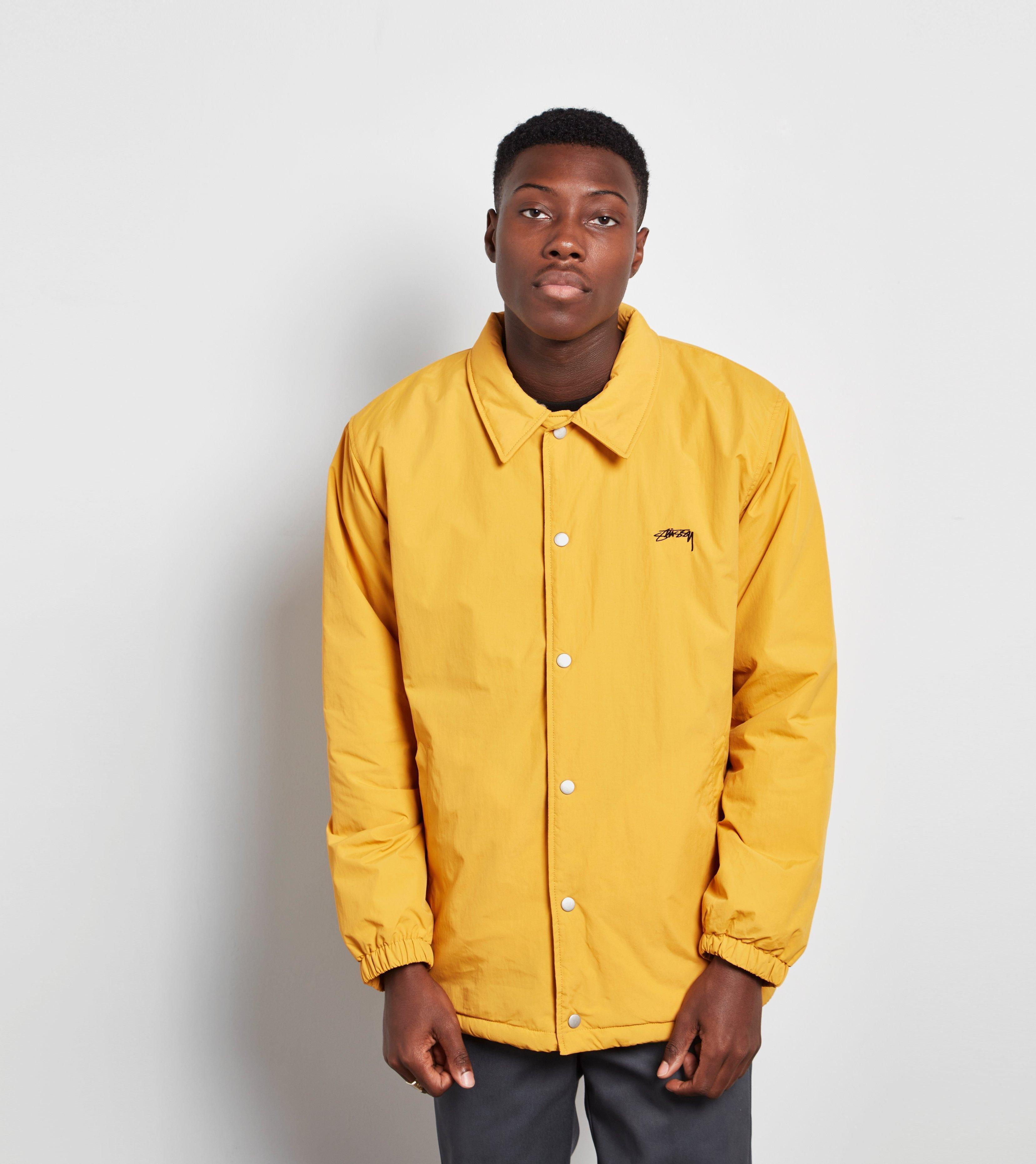 2eb15dceff Stussy Yellow Stock Coach Jacket for men