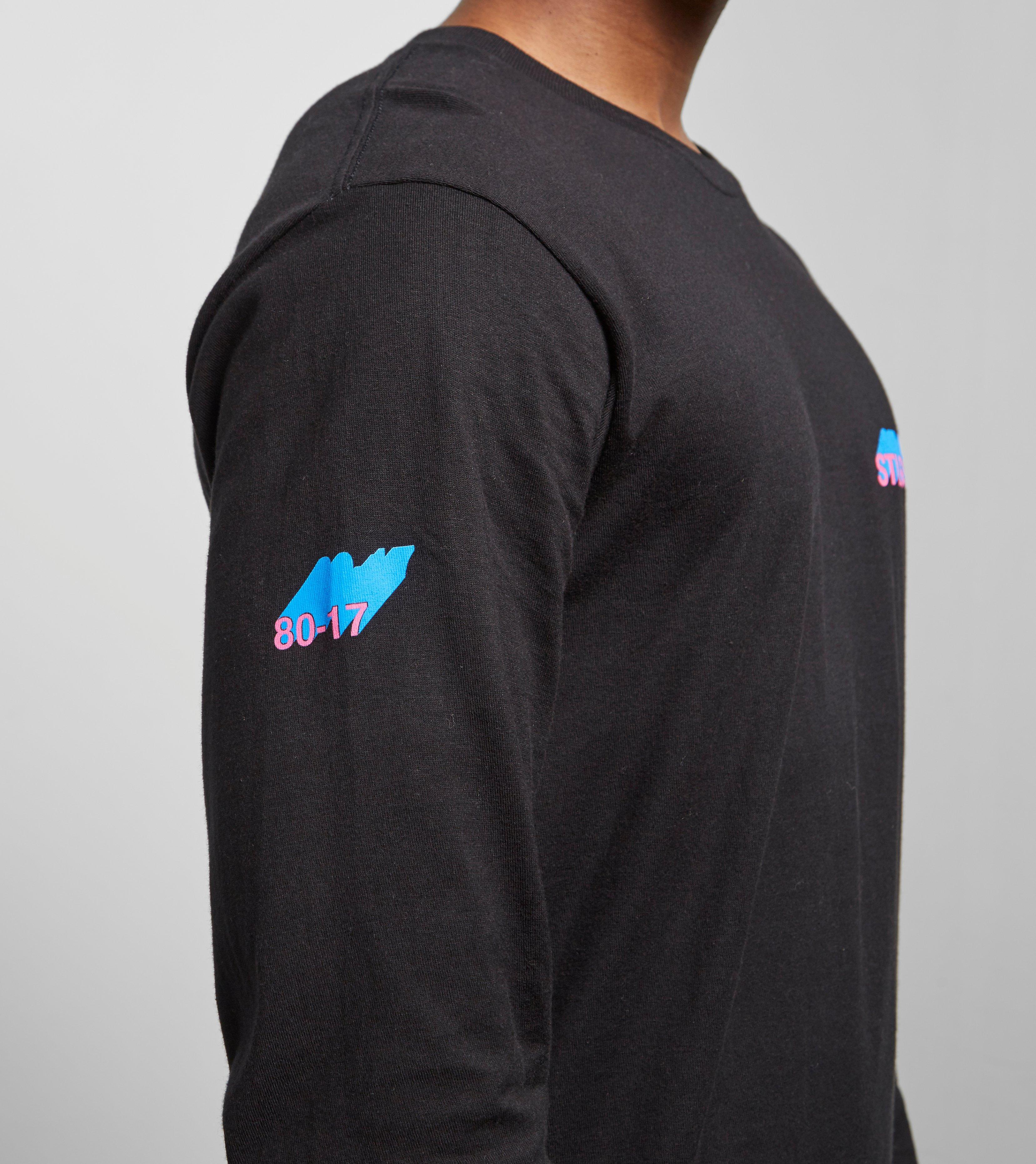 181d45b98ab Lyst - Stussy Hold A Medz Long Sleeve T-shirt in Black for Men
