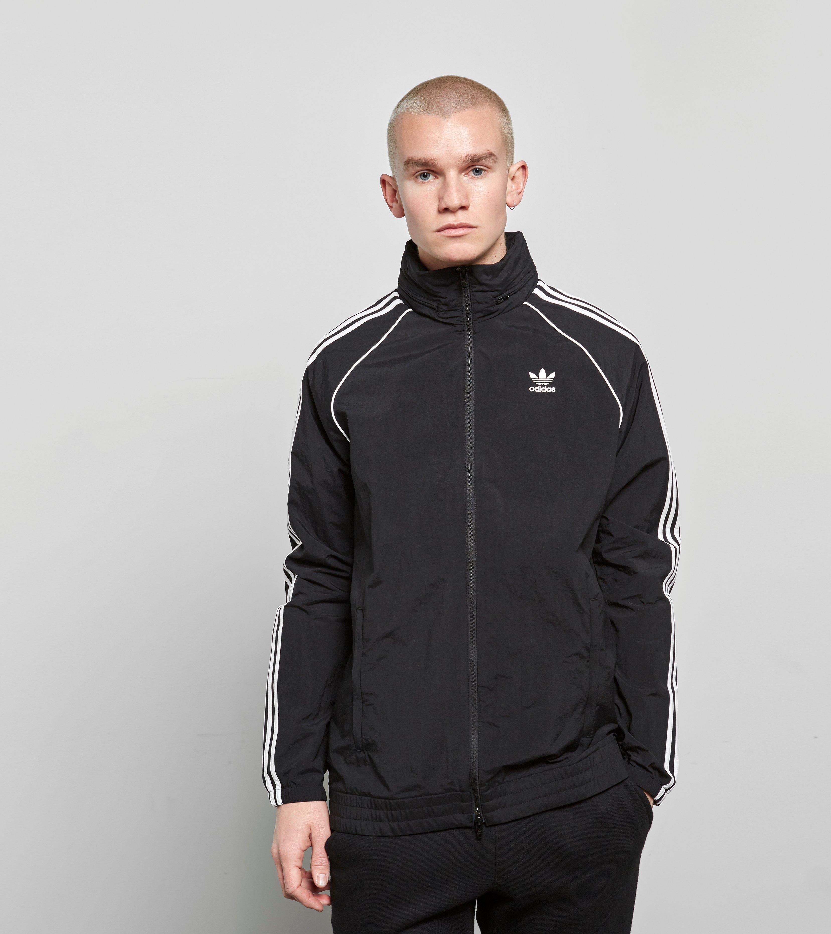 los angeles b2c44 8f0ce Lyst - adidas Originals Superstar Lightweight Windbreaker in
