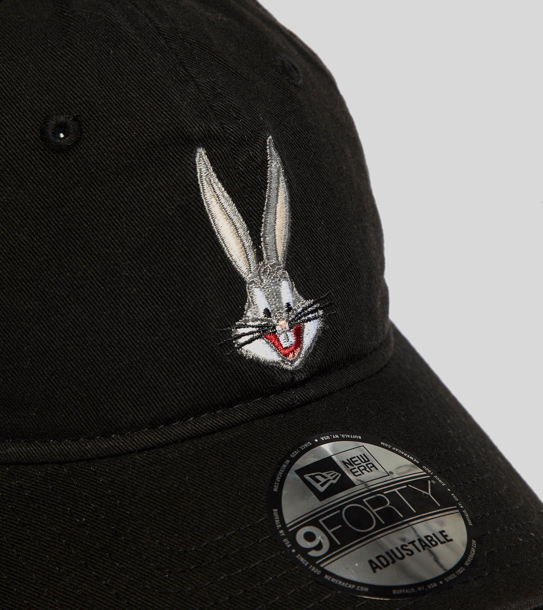 32d2adc30 KTZ Black 9forty Looney Tunes Bugs Bunny Cap for men