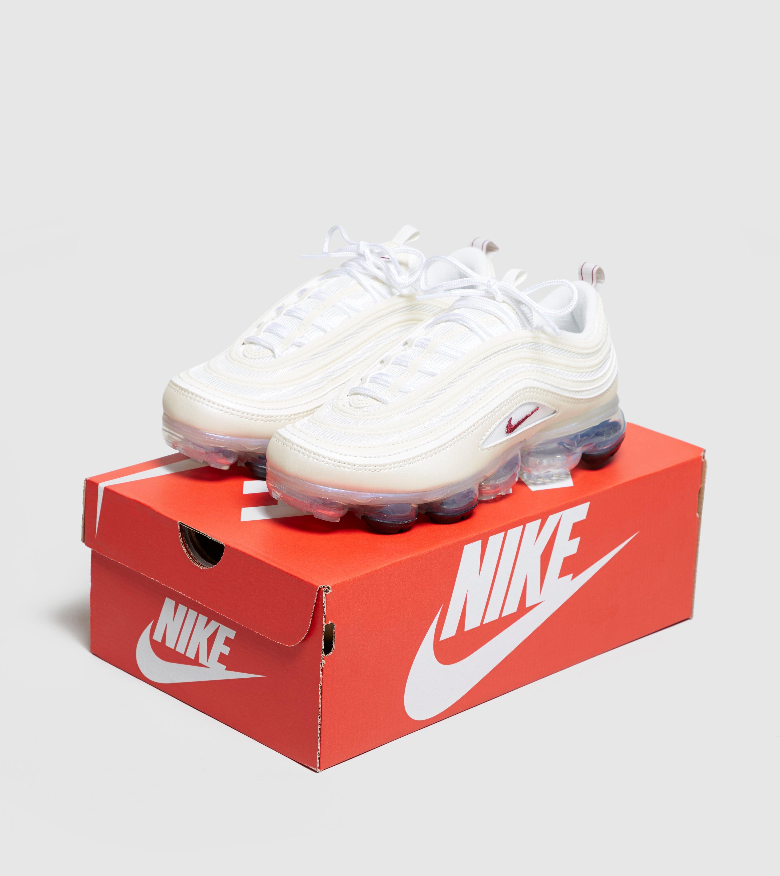lowest price c88a2 da387 Nike White Air Vapormax 97 Women's
