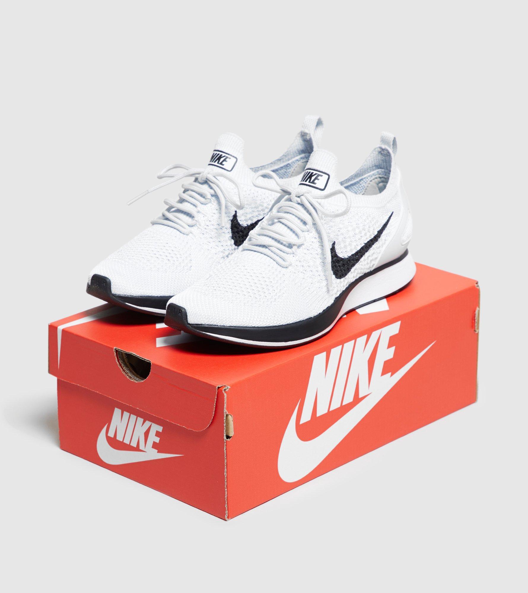 Lyst - Nike Air Zoom Mariah Flyknit Racerback Women s in White 0b454a426