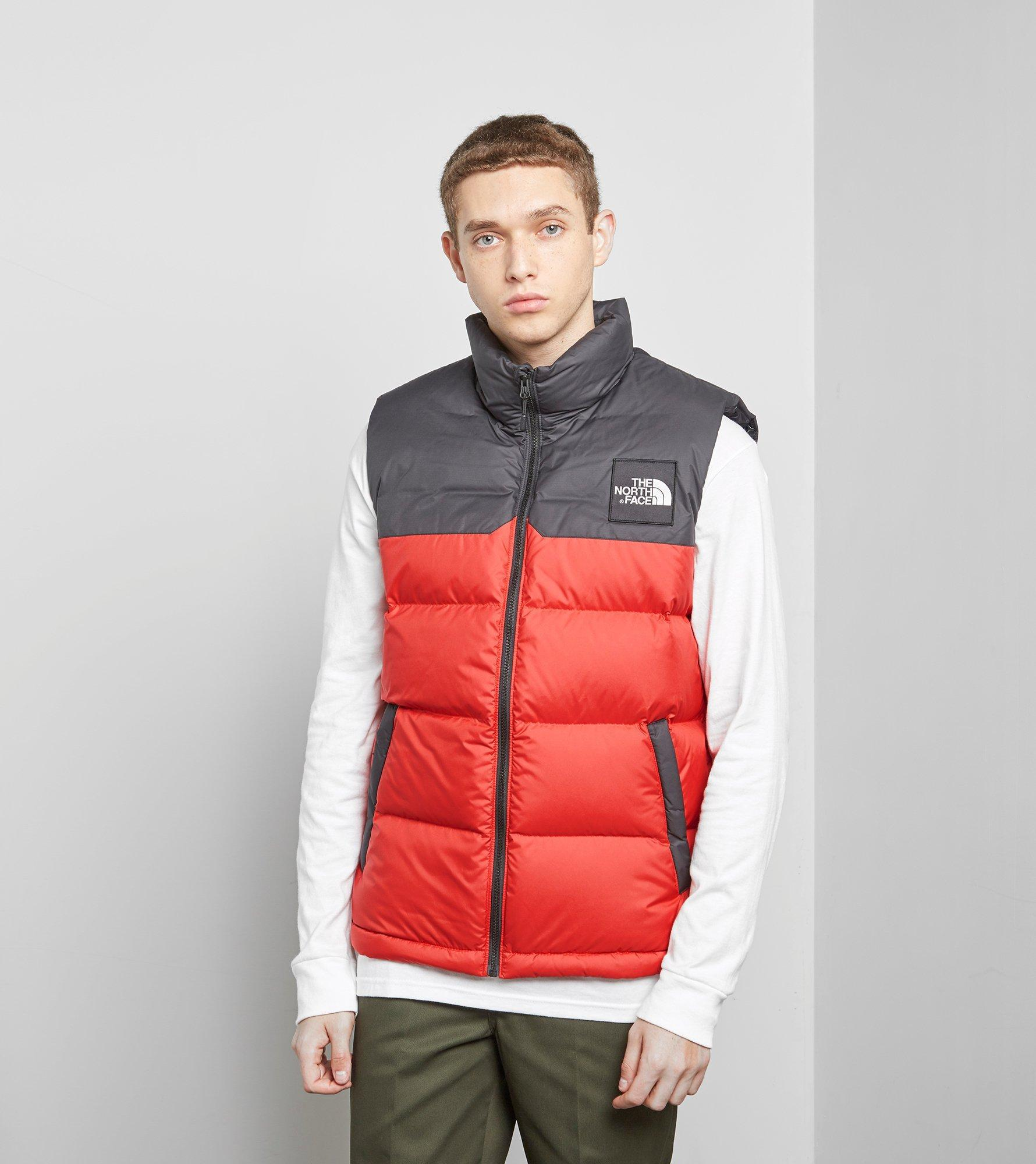 cf55ee0b56b0 best price lyst the north face 1992 nuptse vest in red for men 0349d 70031