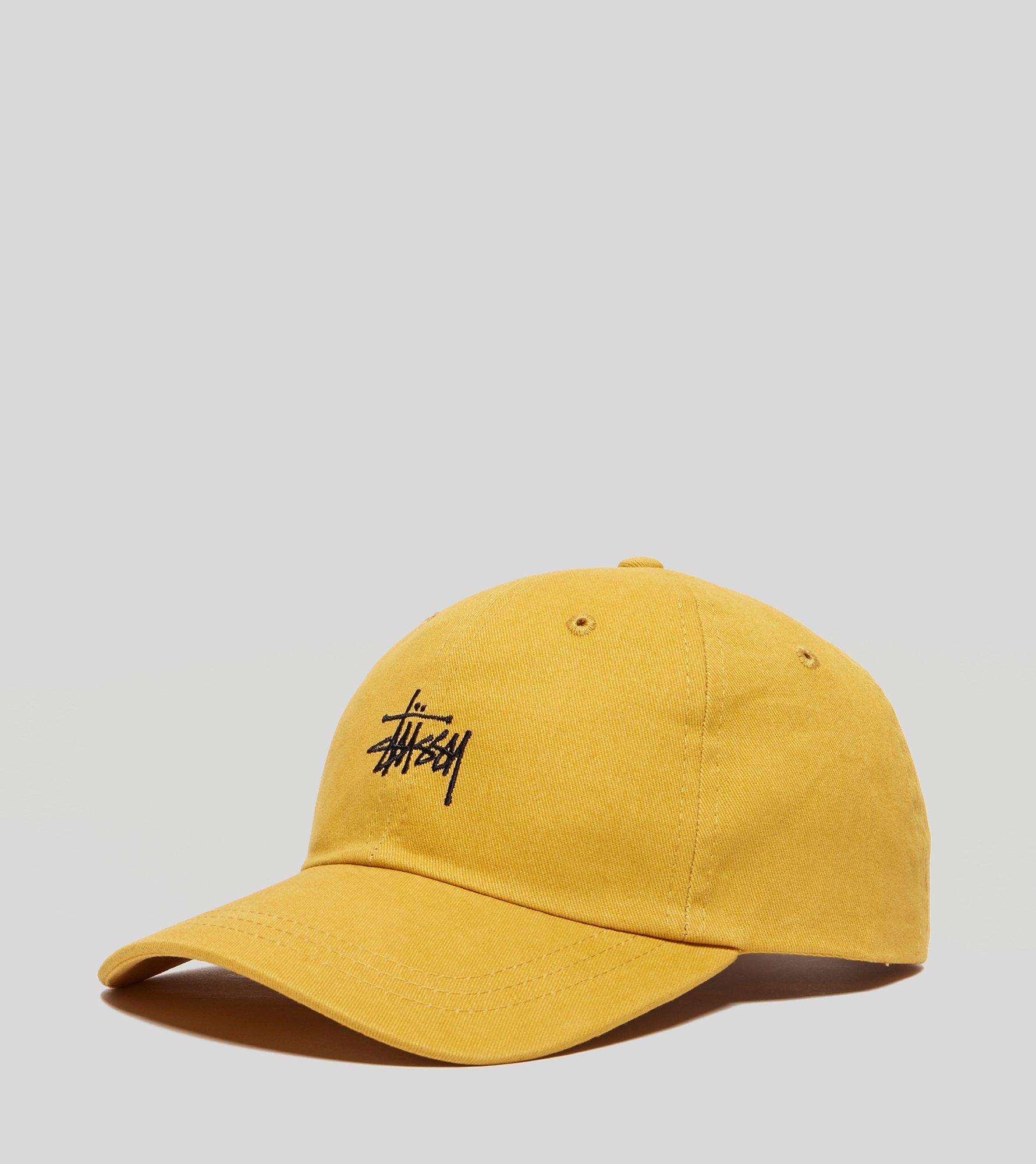Stussy Low Pro Logo Cap in Yellow for Men - Lyst 34457755bb3