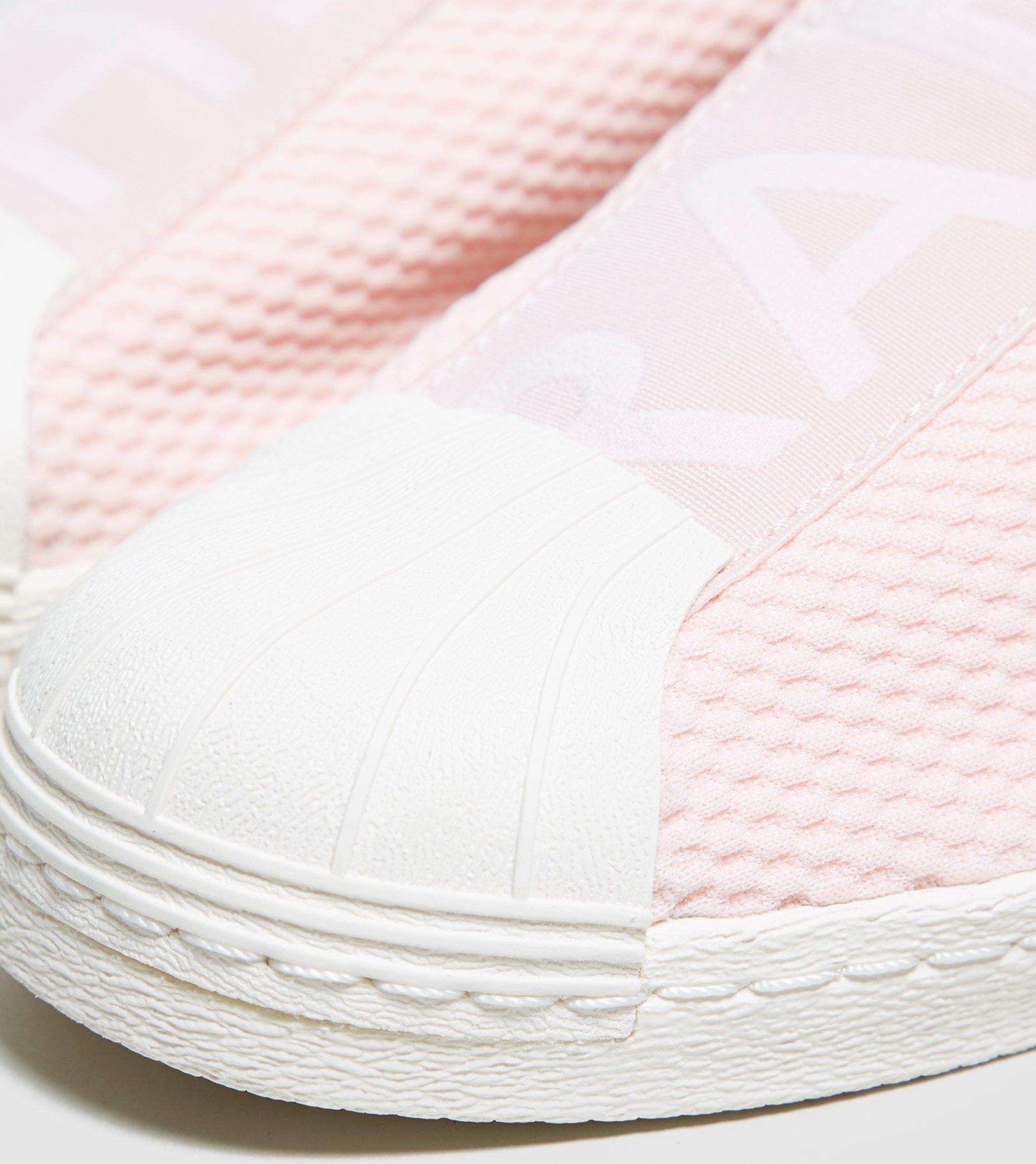 87dfc4307e8475 Lyst - Adidas Originals Superstar Bw35 Slip-on Women s in Pink