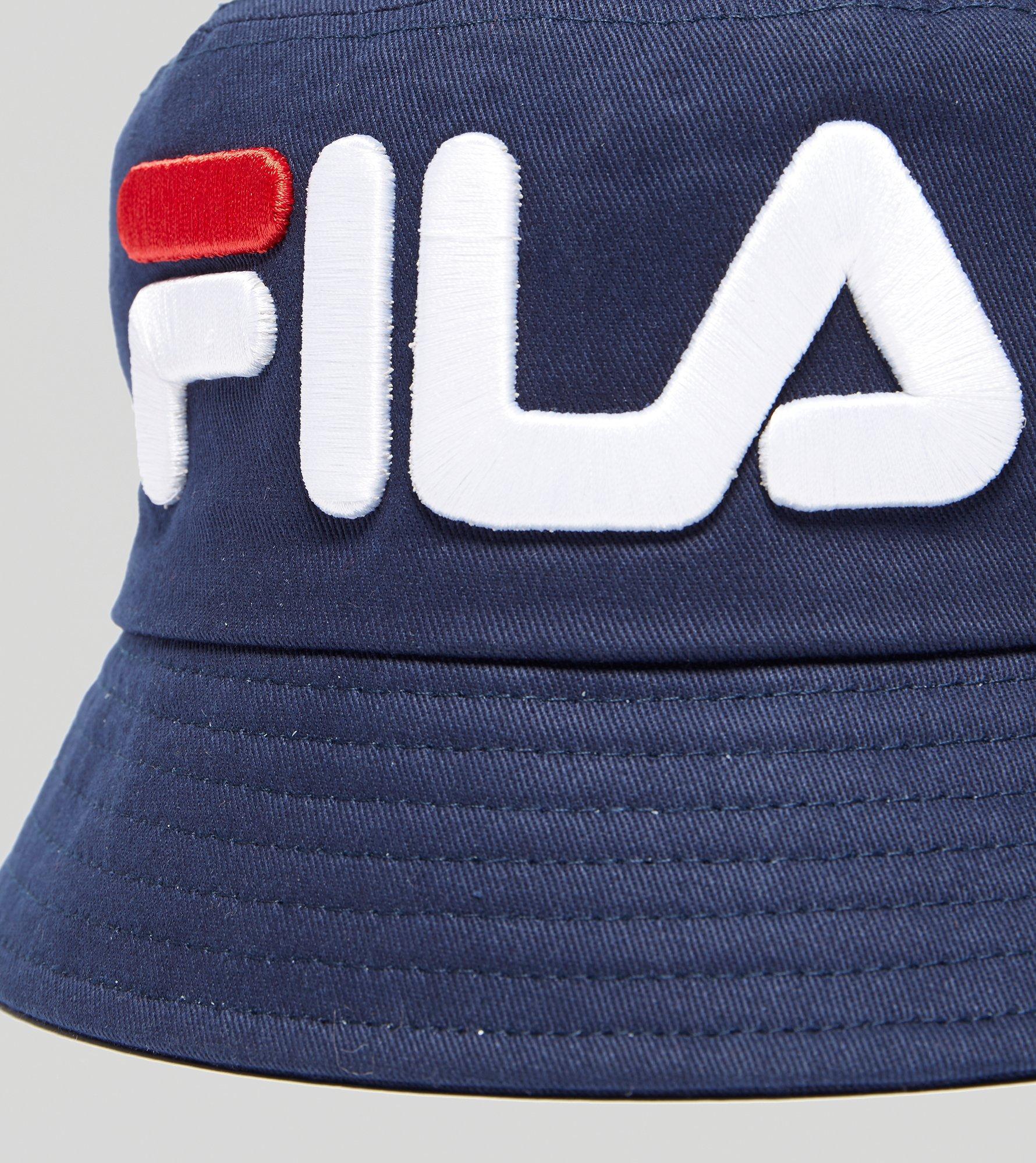 0e6fb091 Fila Beefie Bucket Hat in Blue for Men - Lyst