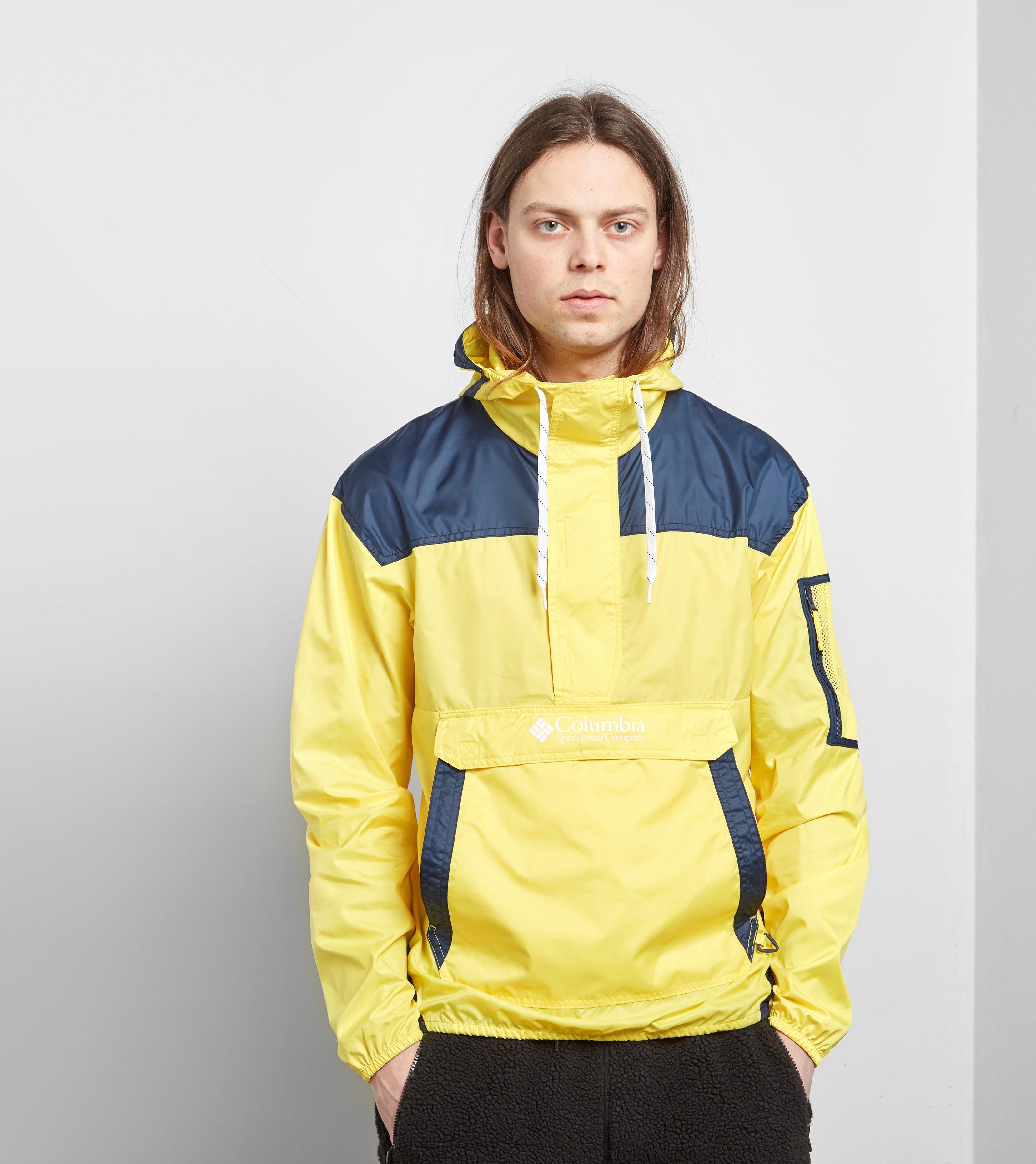 66a35c69c Columbia Yellow Challenger Lightweight 1/2 Zip Jacket for men